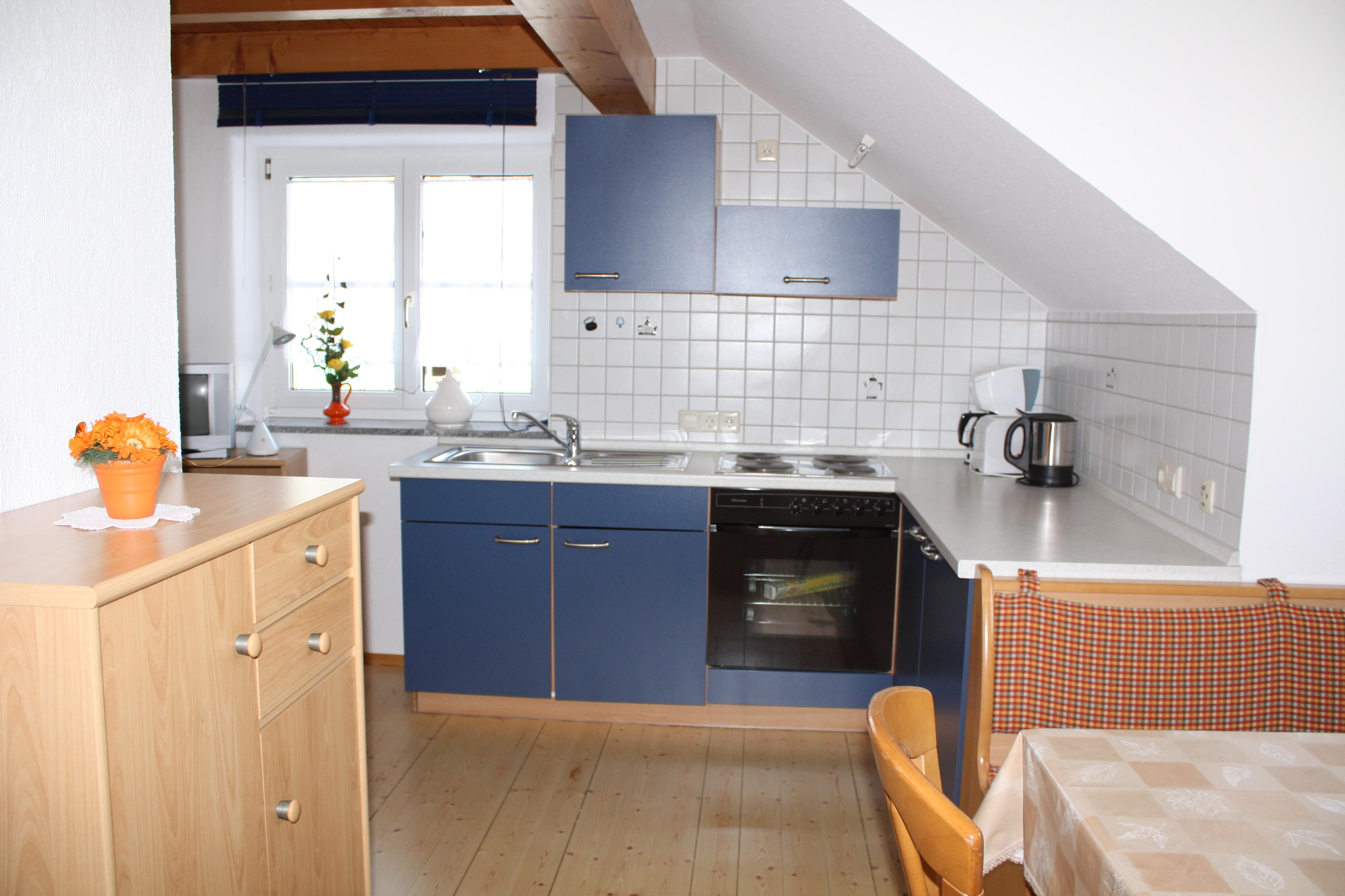 Ferienwohnung Schneider, Wohnküche Fewo 1