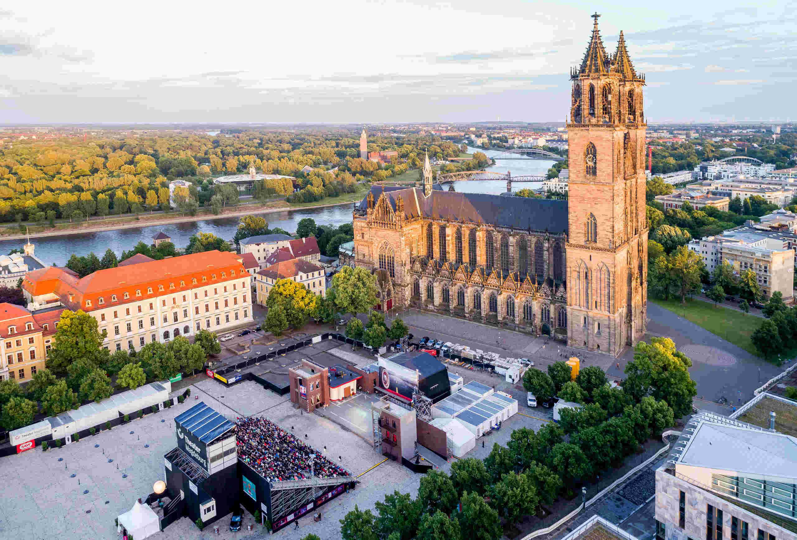 Domplatz Open Air in Magdeburg