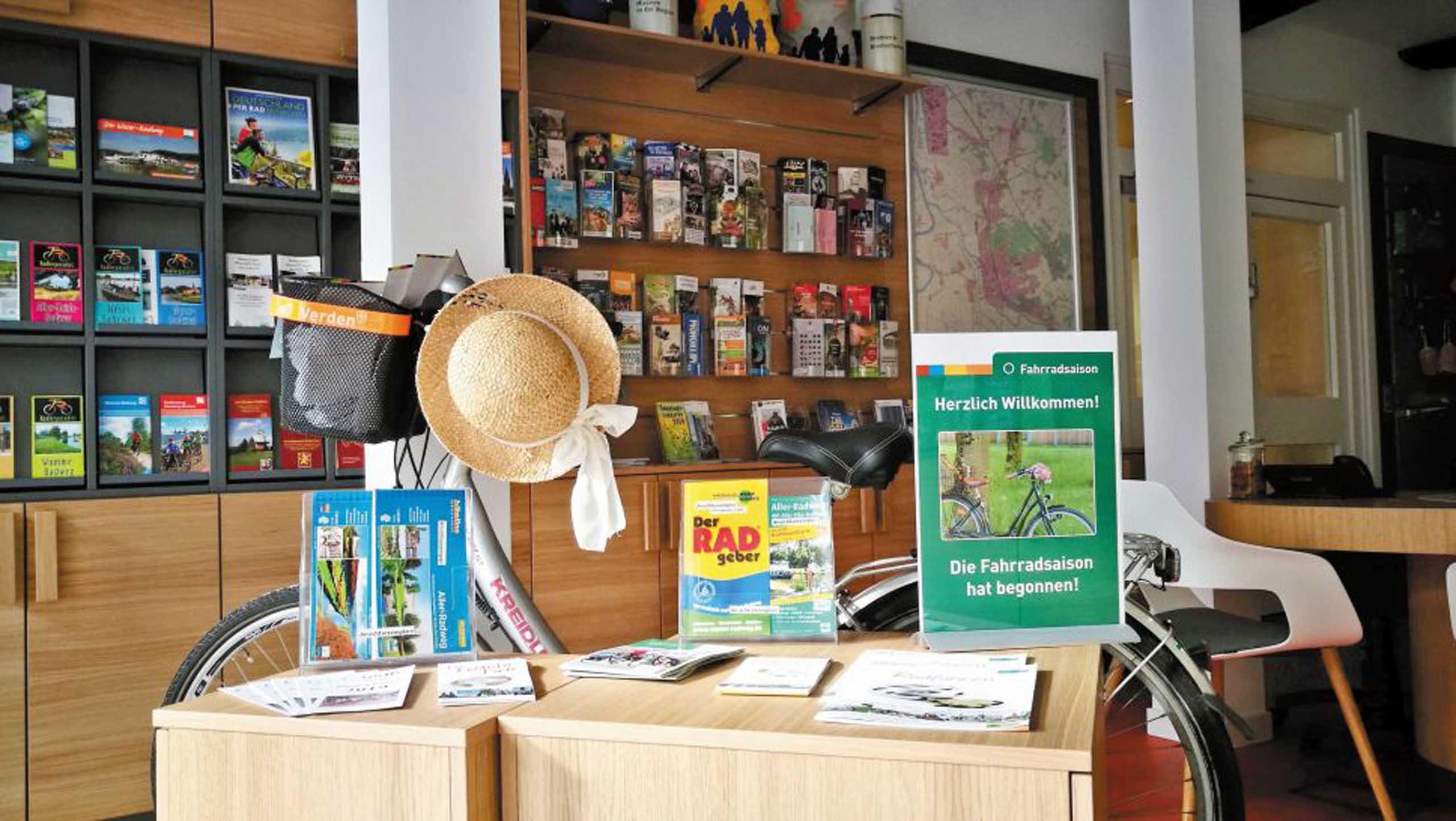 Die Tourist-Information der Stadt Verden