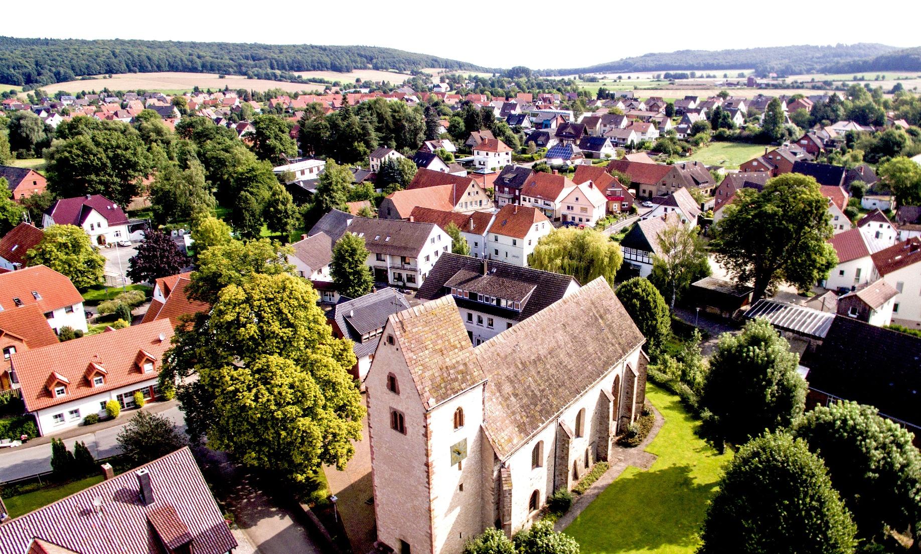 Blick auf Langenholzhausen