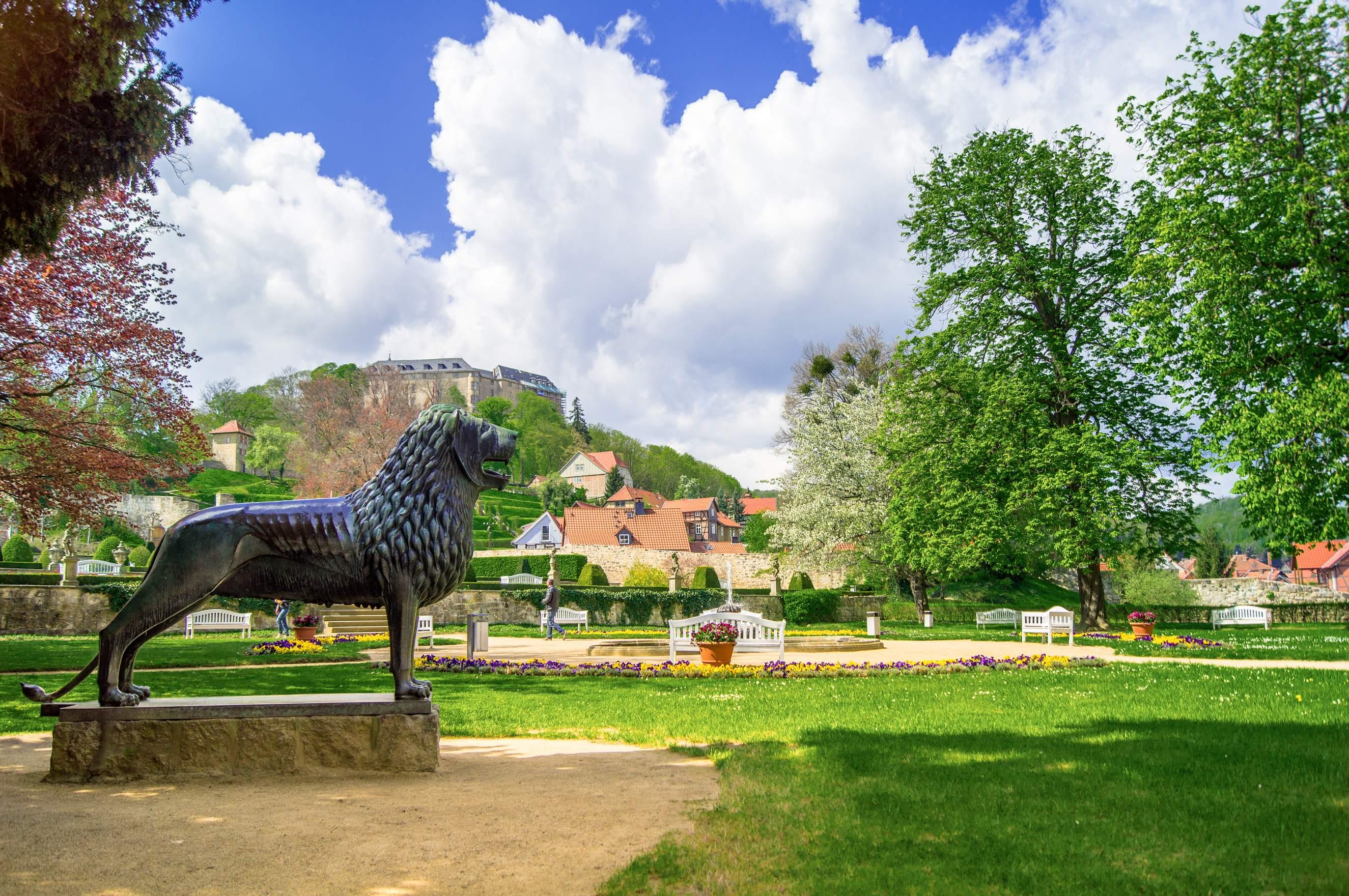 Barockgarten in den Schlossgärten Blankenburg