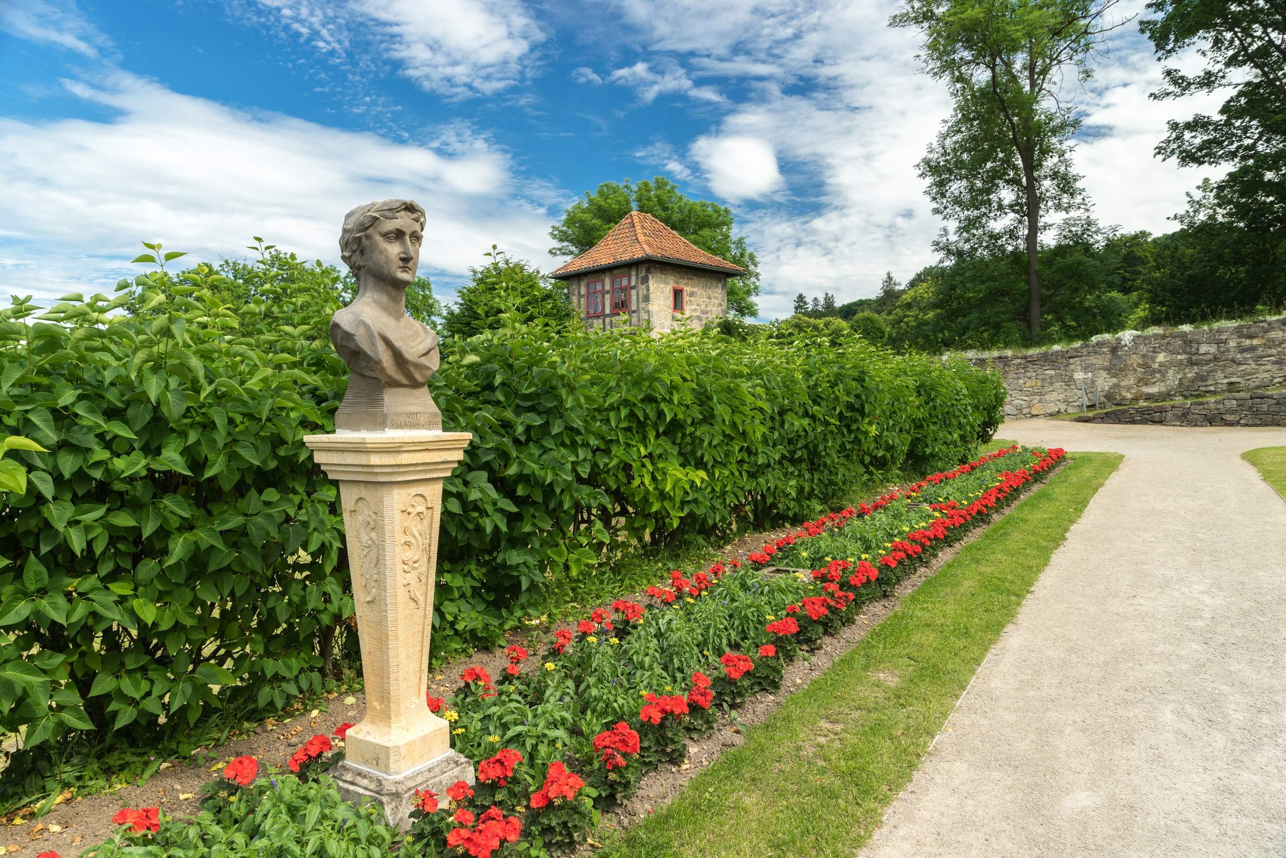 Berggarten in den barocken Gärten Blankenburg