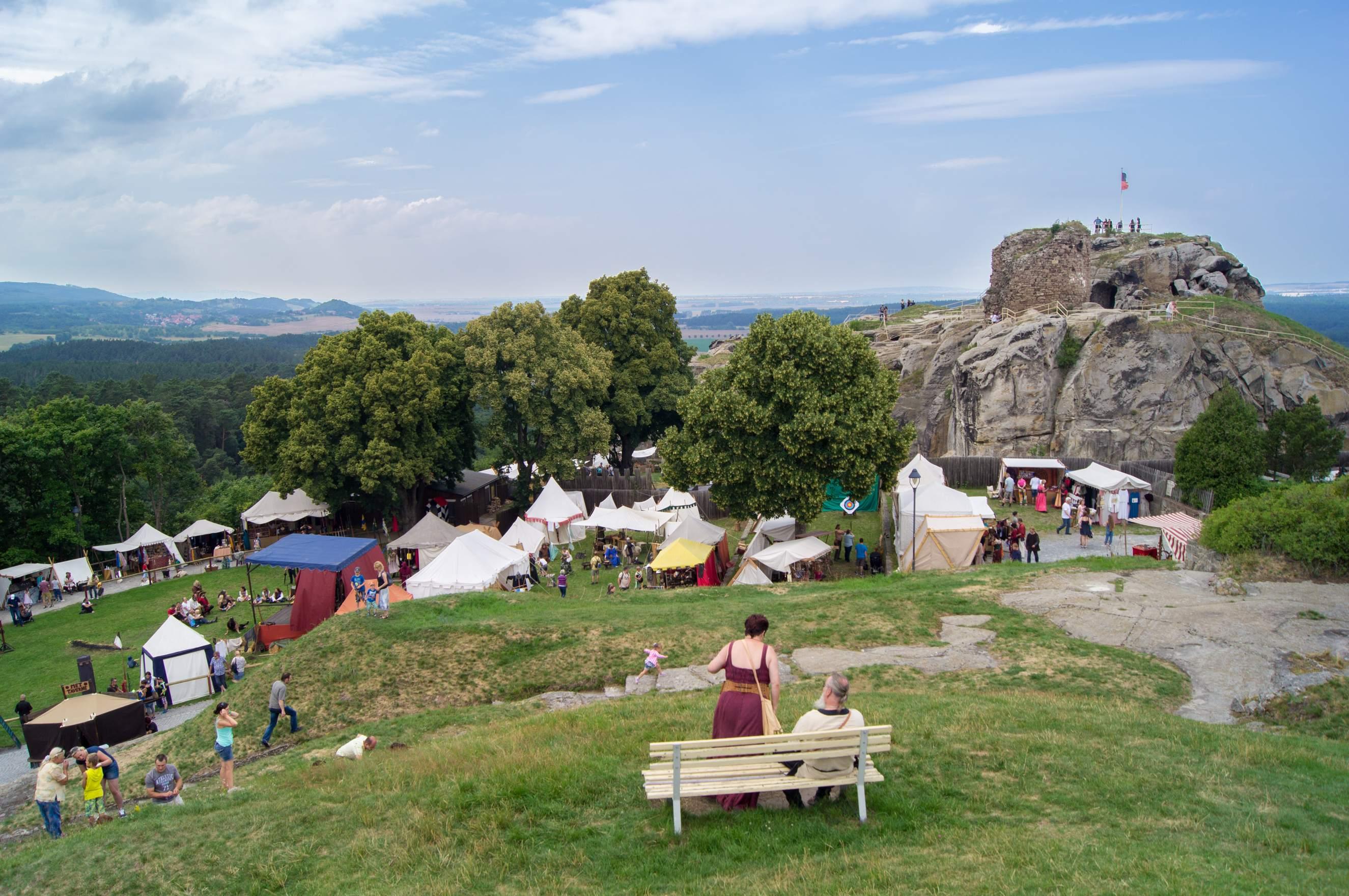 Burggelände der Burg und Festung Regenstein