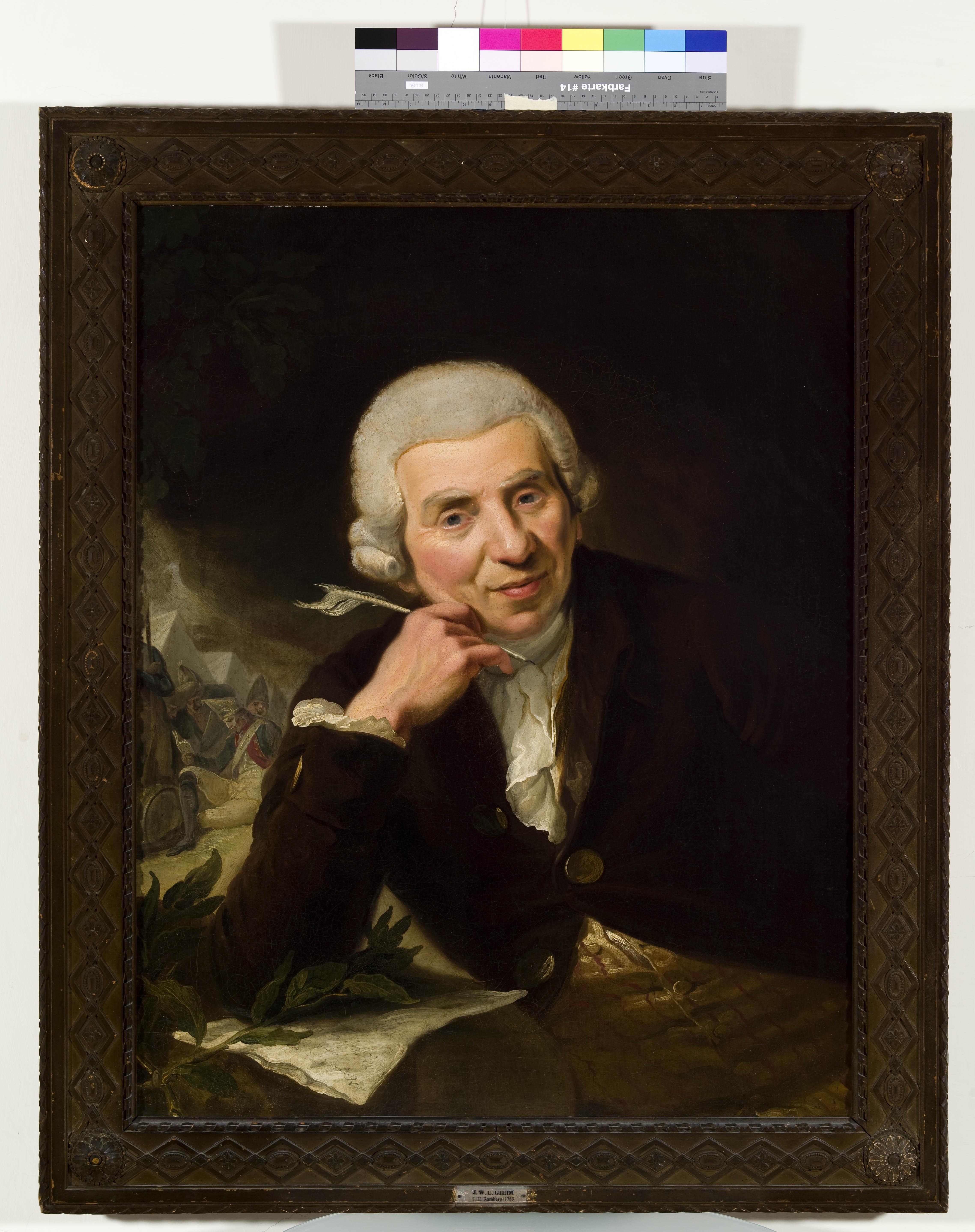 Johann Wilhelm Ludwig Gleim (1719-1803)
