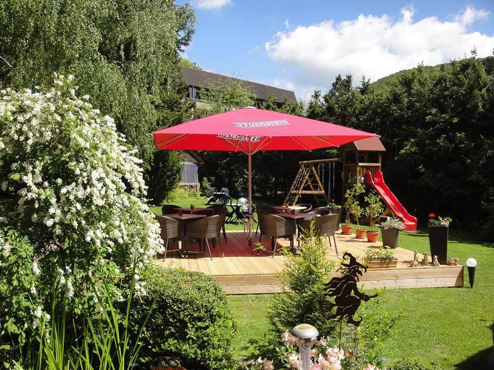 Hotel-Pension Altes Forsthaus in Zorge - Doppelzimmer - Terrasse - Lounge