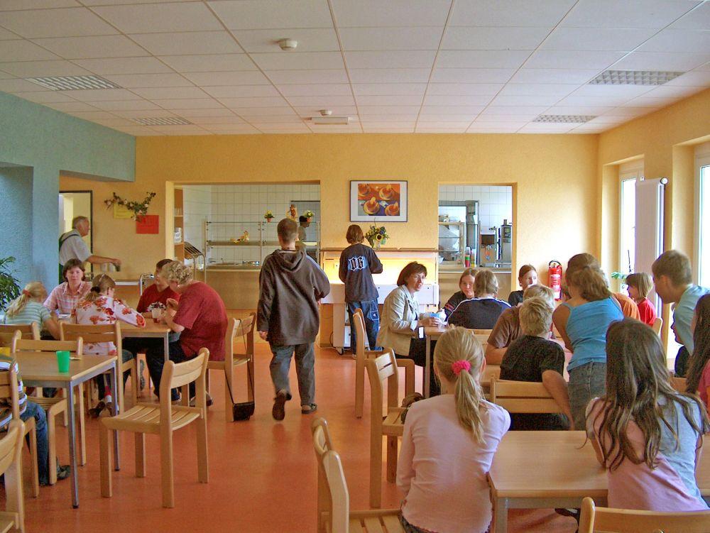 Jugendherberge Kelbra - Speisesaal