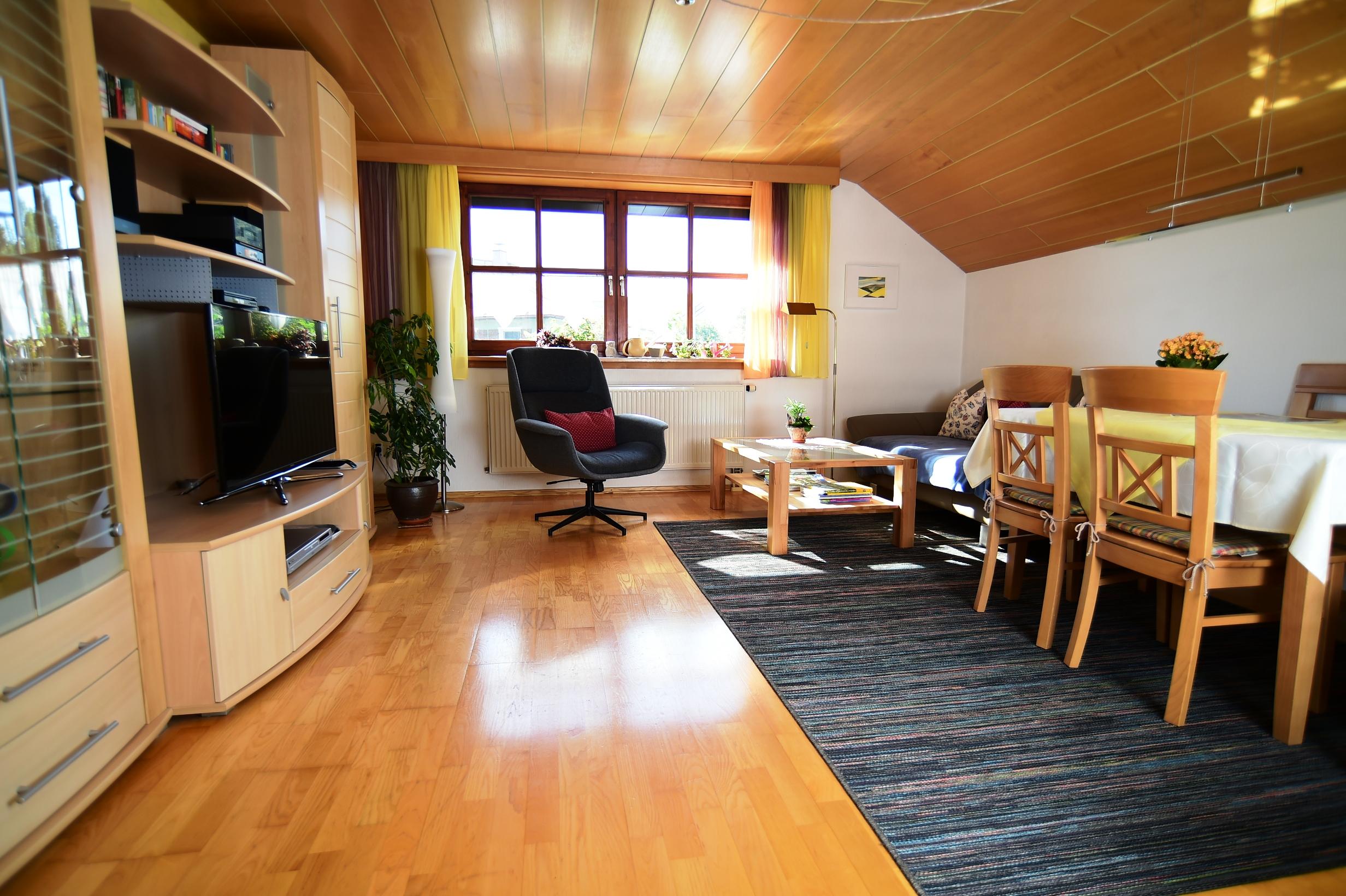Ferienwohnung Walser, Wohnzimmer