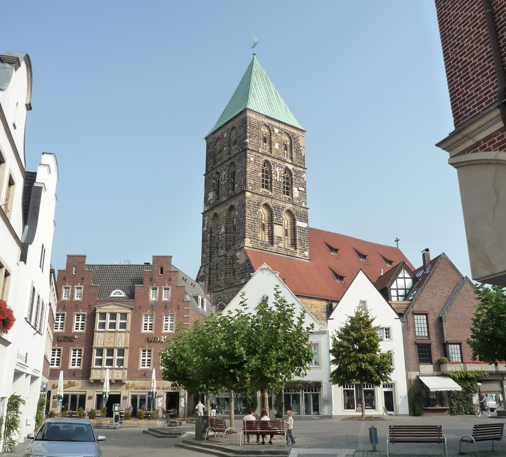 Historischer Marktplatz Rheine