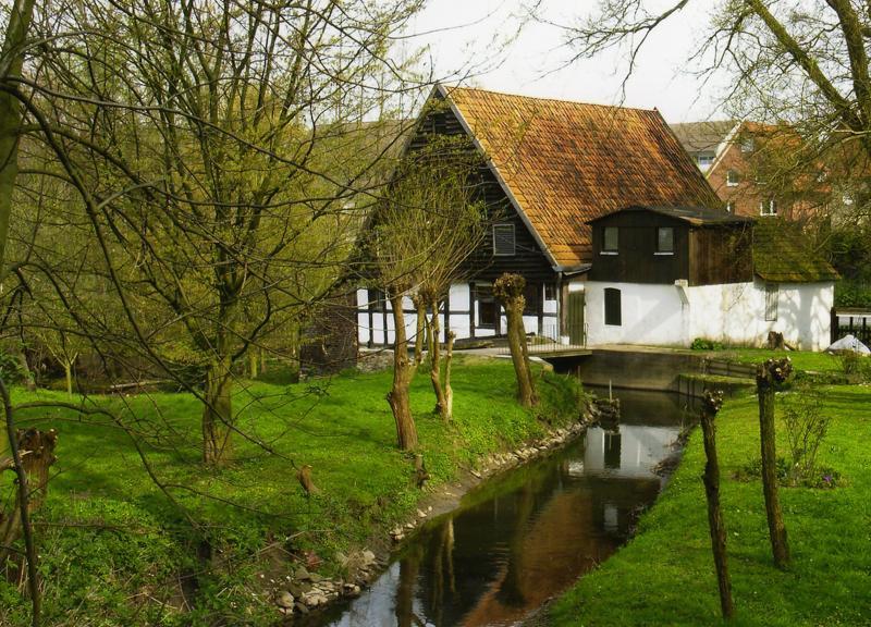 Wassermühle im Engerschen Ortsteil Belke-Steinbeck