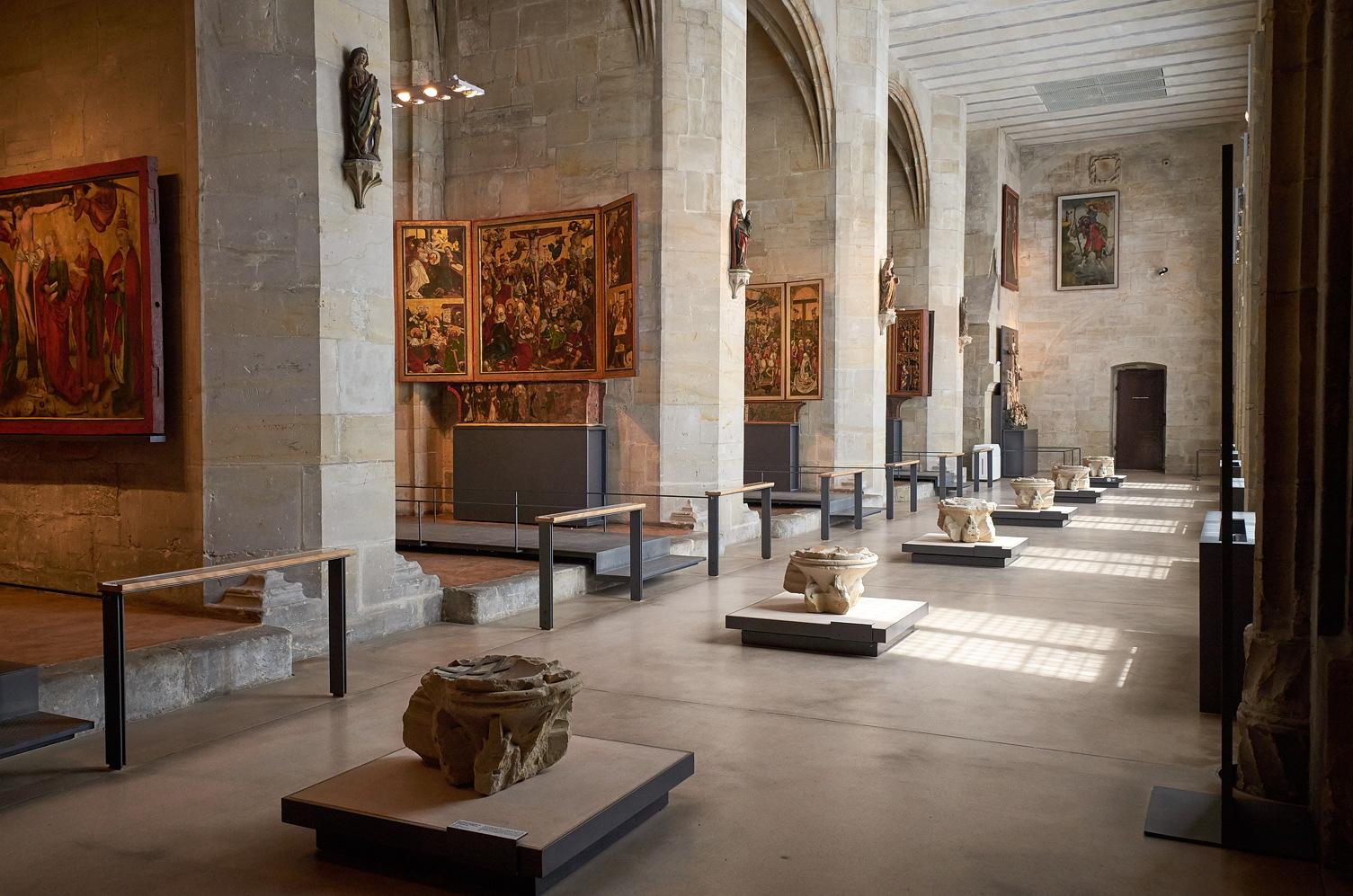 Kapitelsaal in der Domschatzausstellung Halberstadt