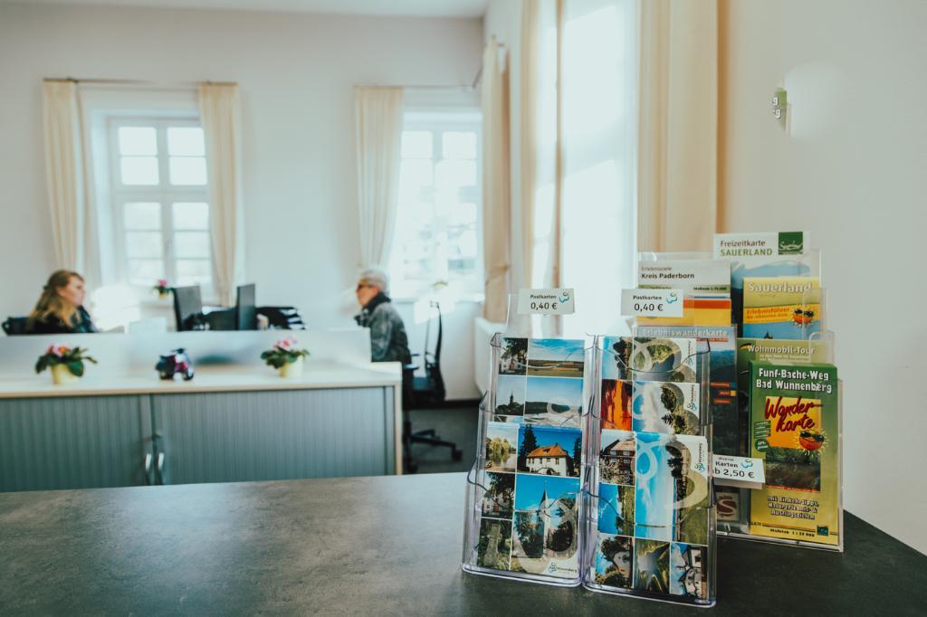 Büro der Bad Wünnenberg Touristik GmbH