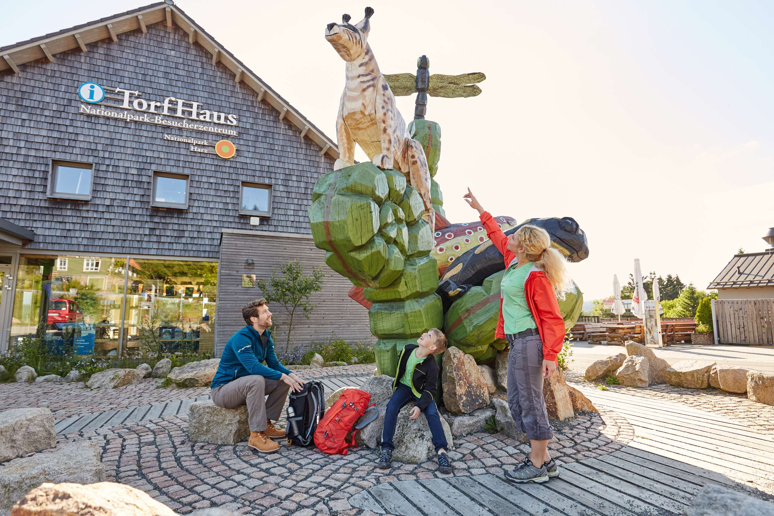 Nationalpark-Besucherzentrum TorfHaus