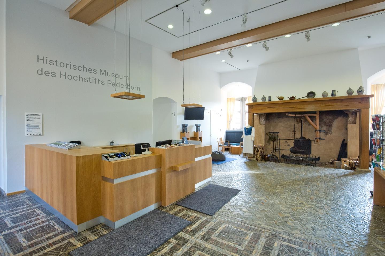 Empfang Kreismuseum Wewelsburg