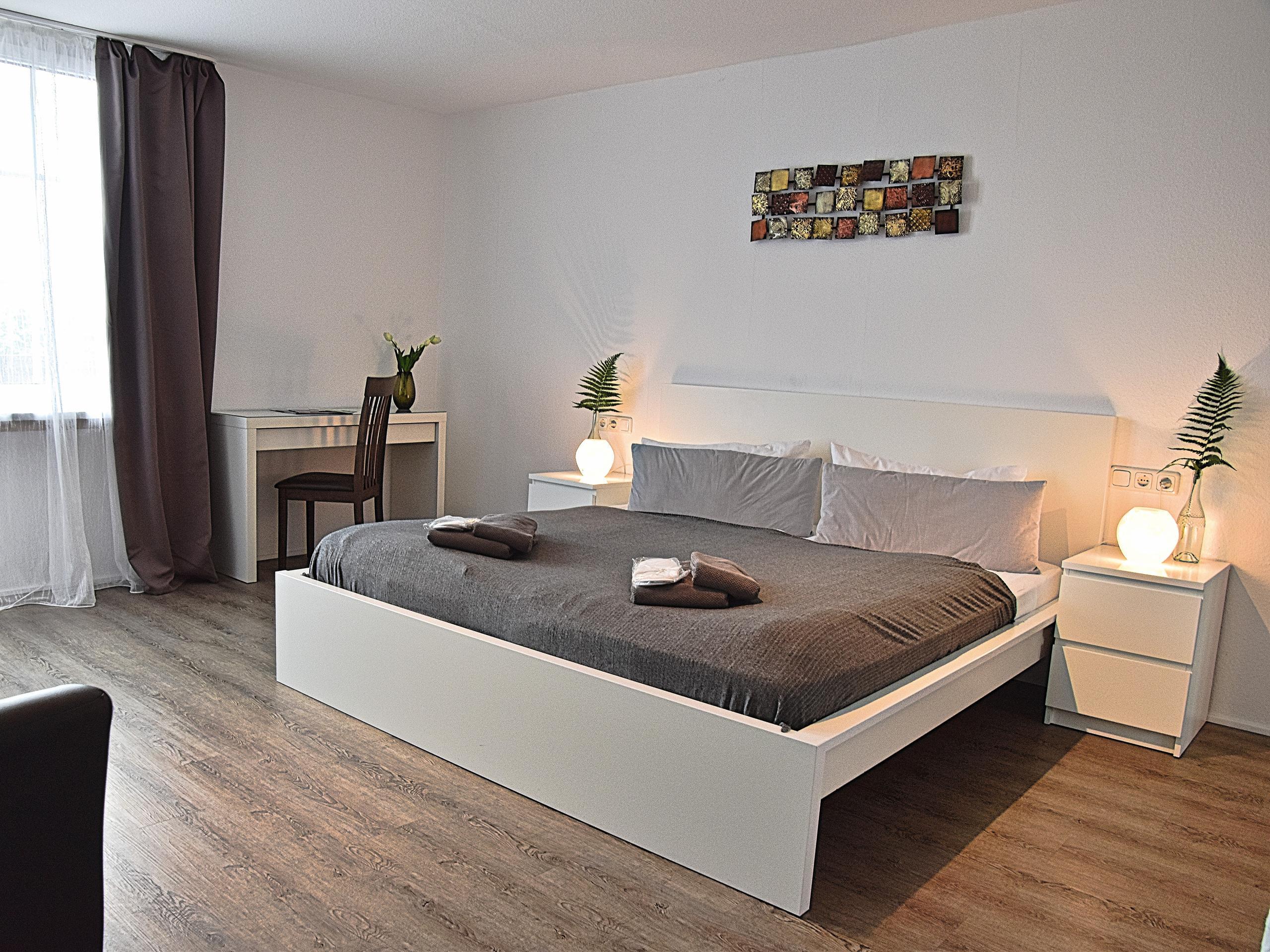 Hotel Rosenhof Braunlage-Schlafbereich Doppelzimmer