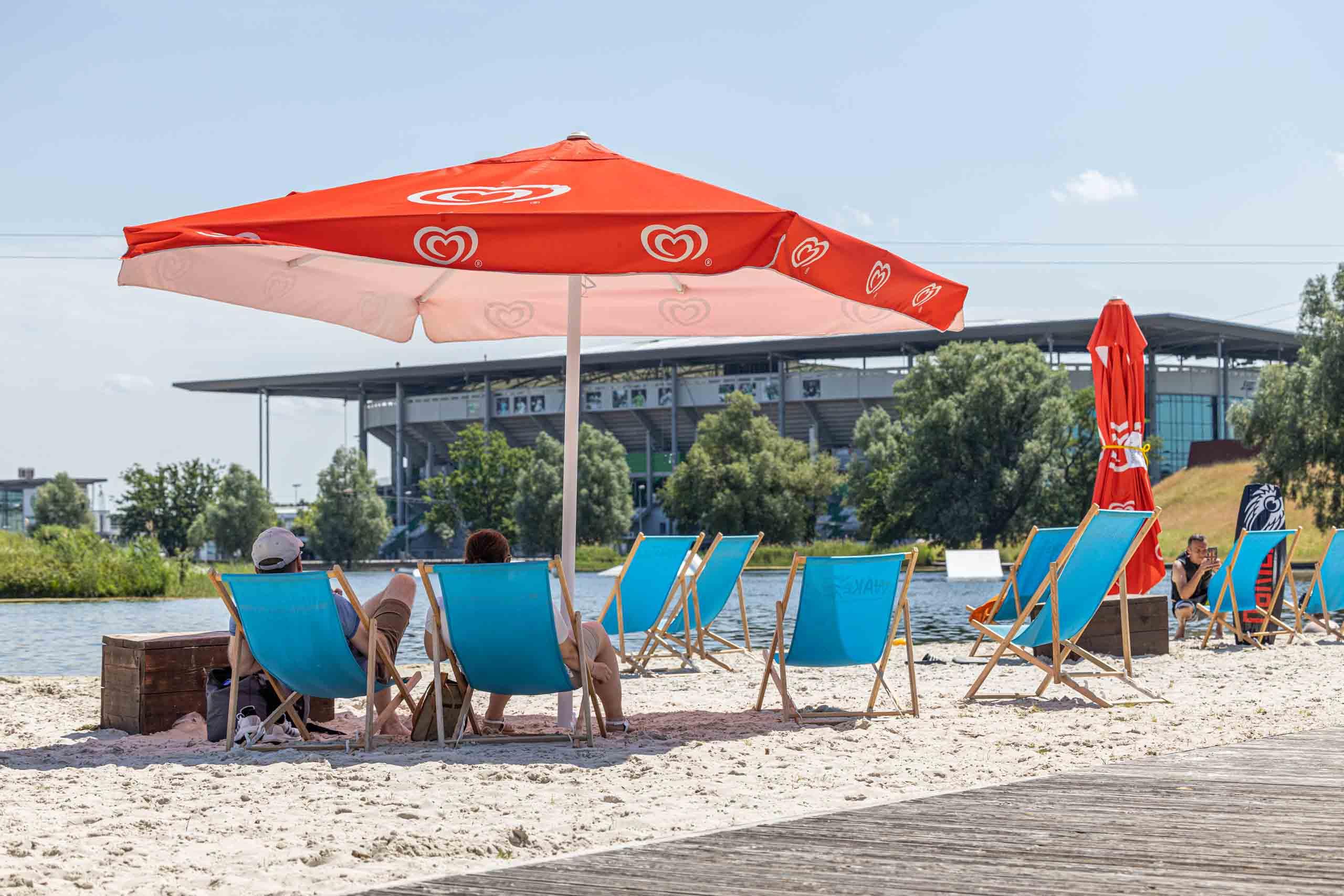 Strand im WakePark Wolfsburg