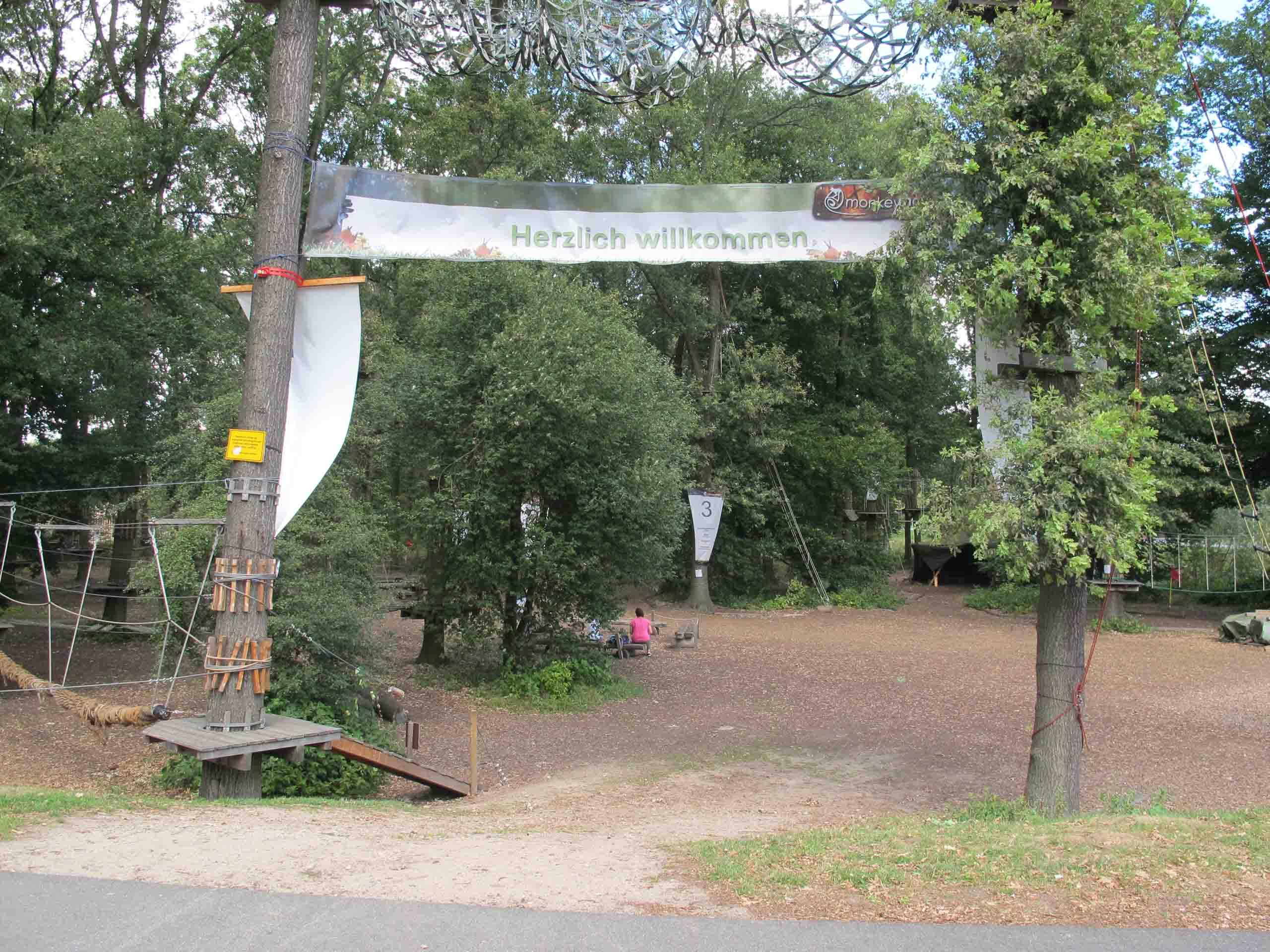 """Hochseilgarten """"monkeyman"""" in Wolfsburg"""