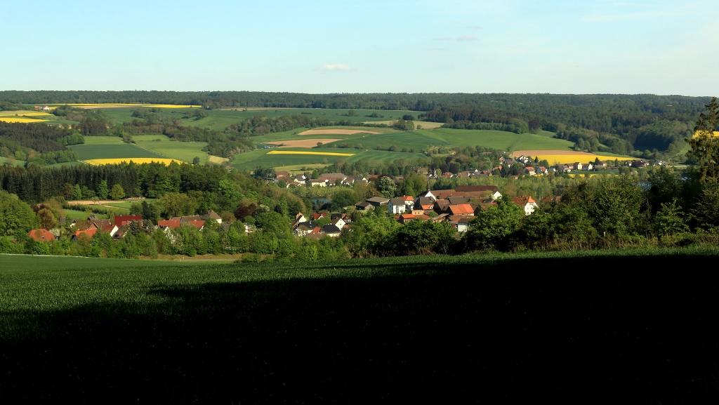 Blankenau, Blick vom Bierenberg