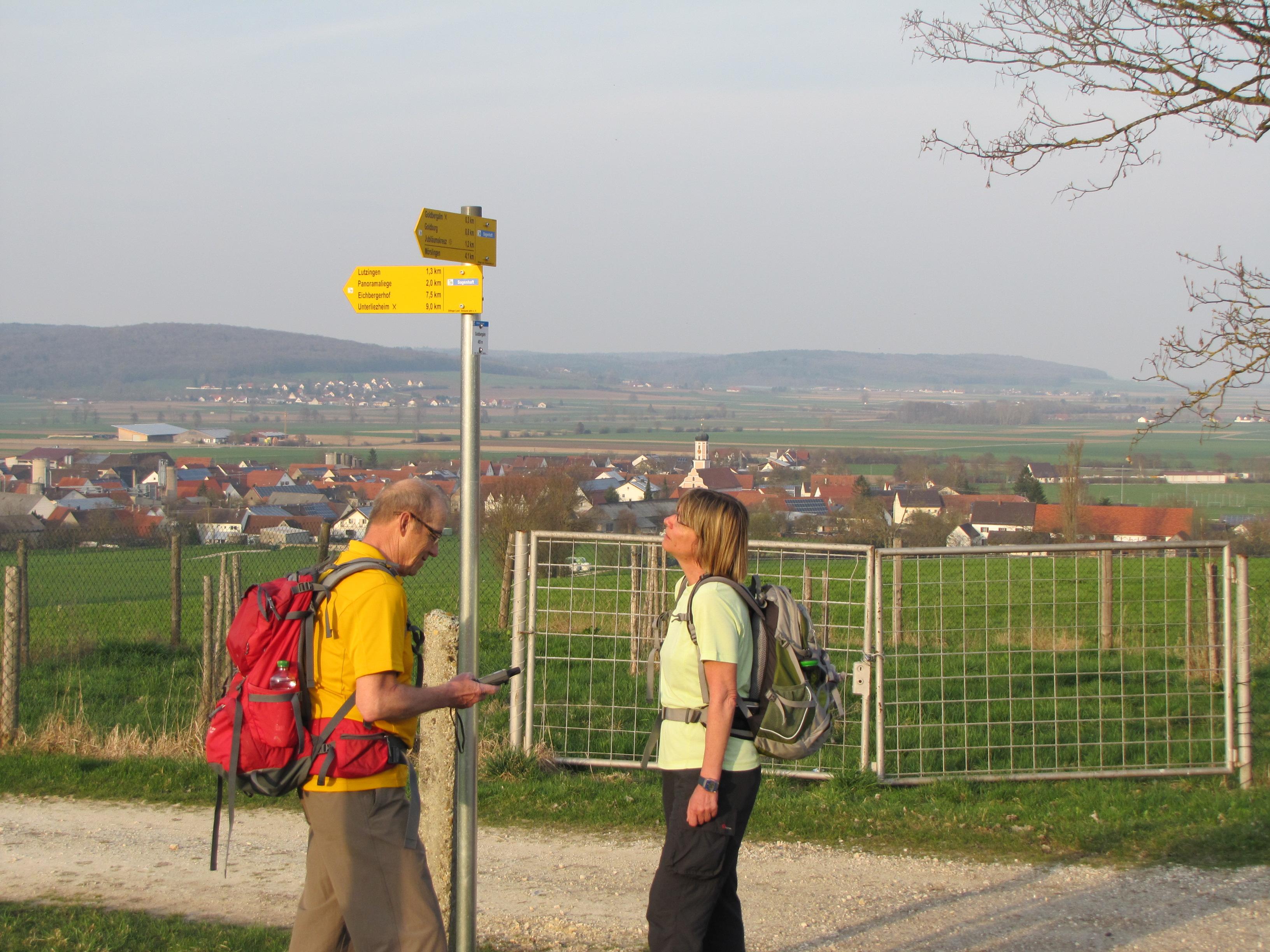 Unterwegs auf dem Panoramaweg Sagenhaft
