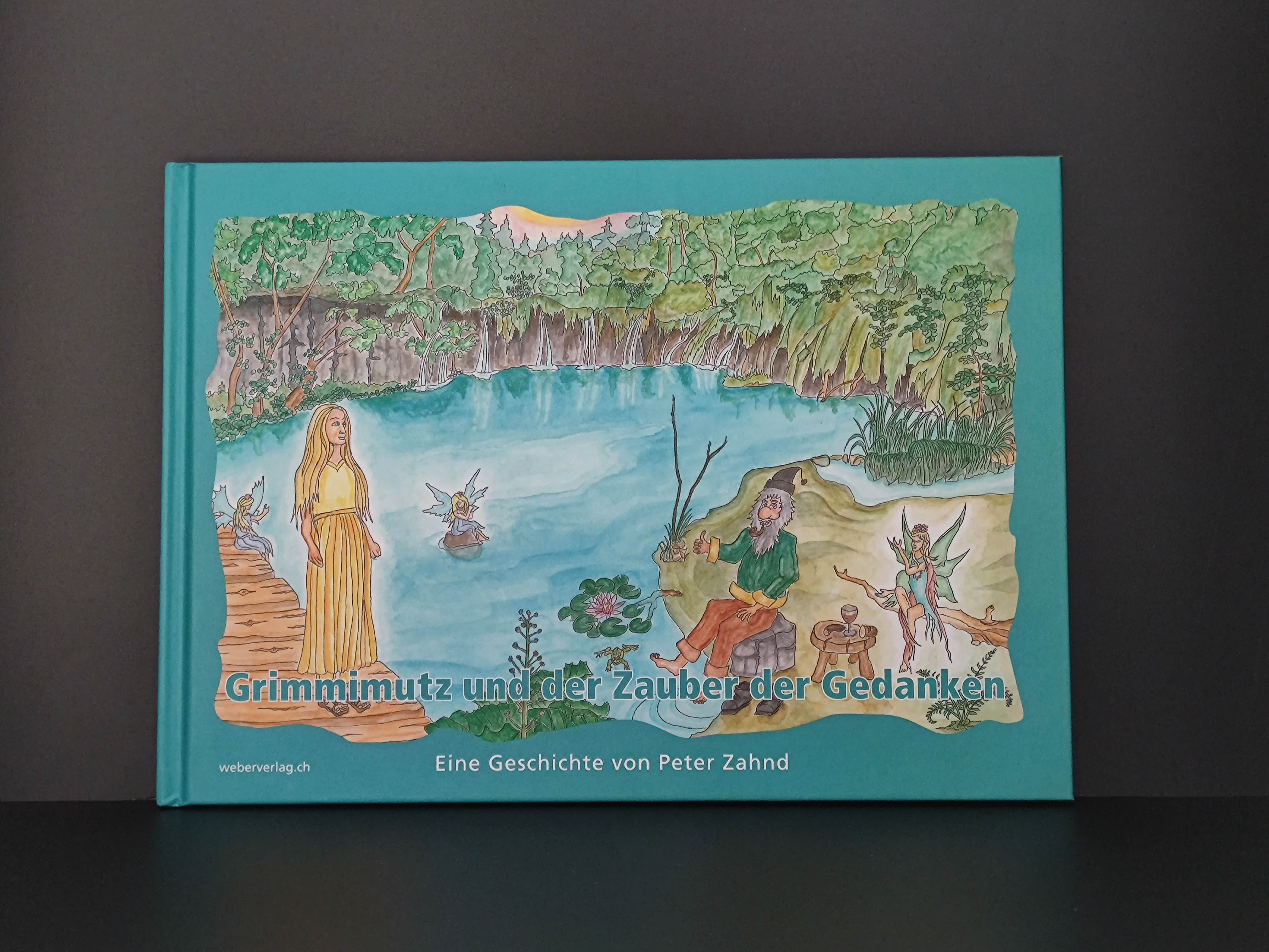 Buch «Grimmimutz und der Zauber der Gedanken»