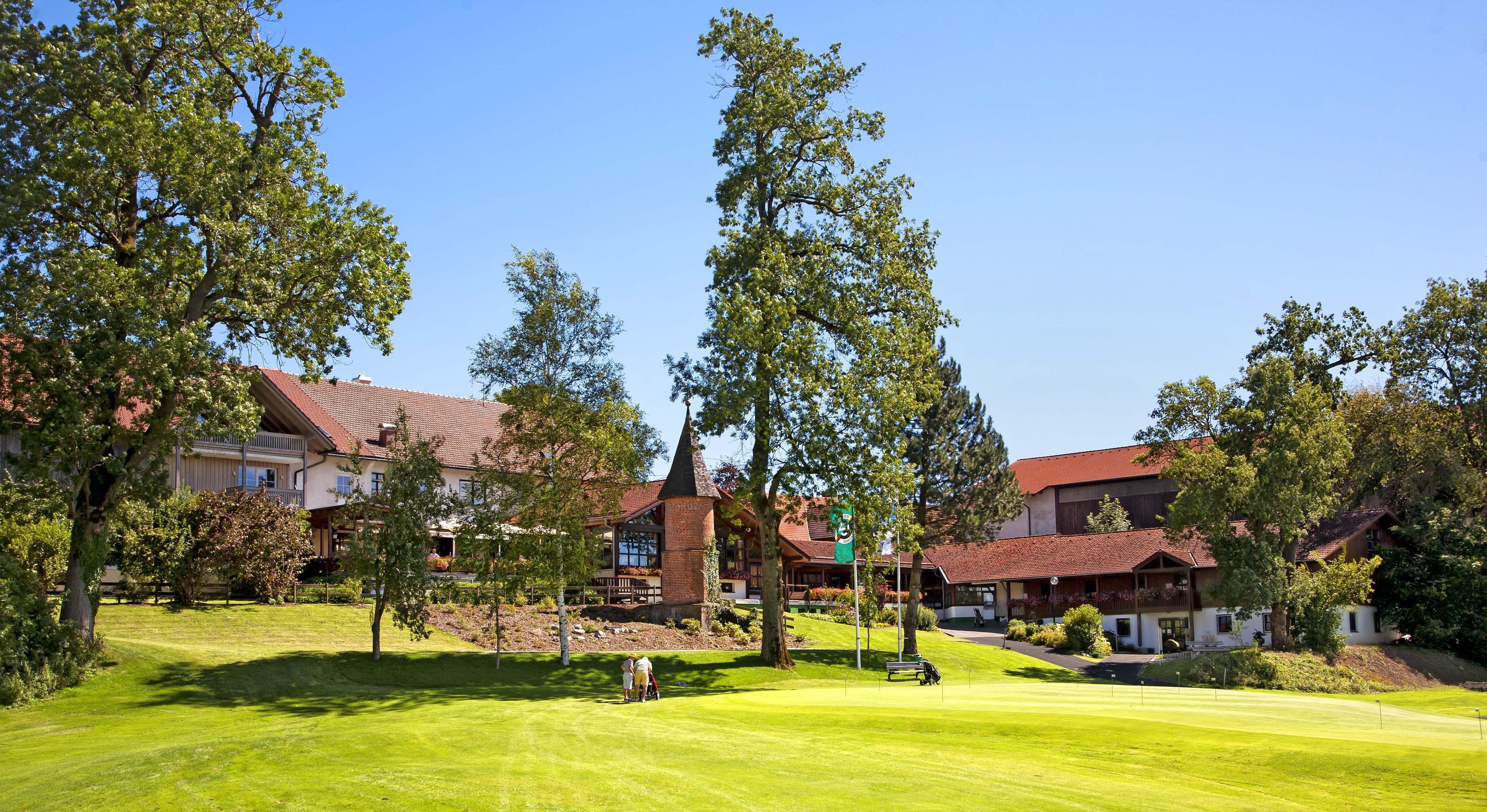 Clubhaus des kneipp-zertifizierten Golfplatzes