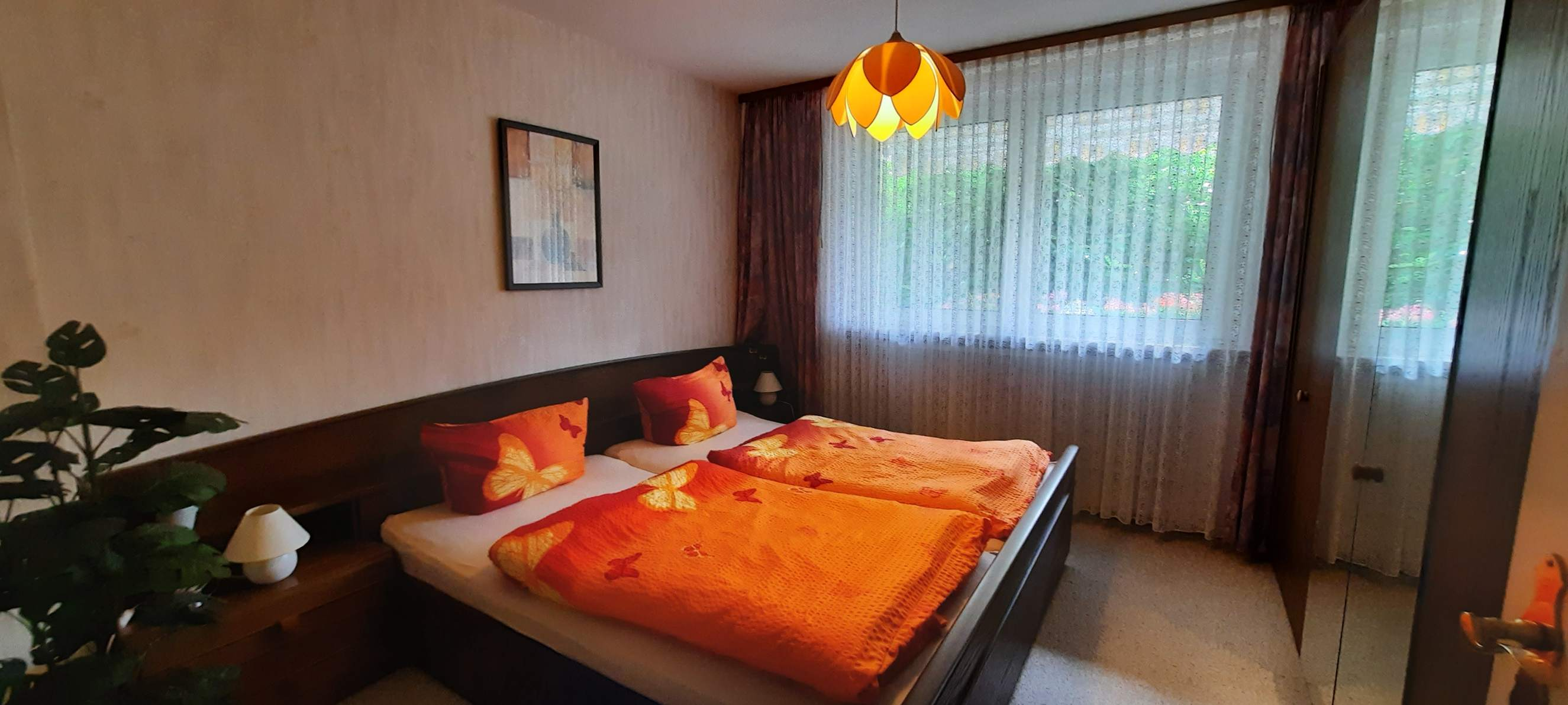 Ferienwohnungen am Birkenweg - Schlafzimmer