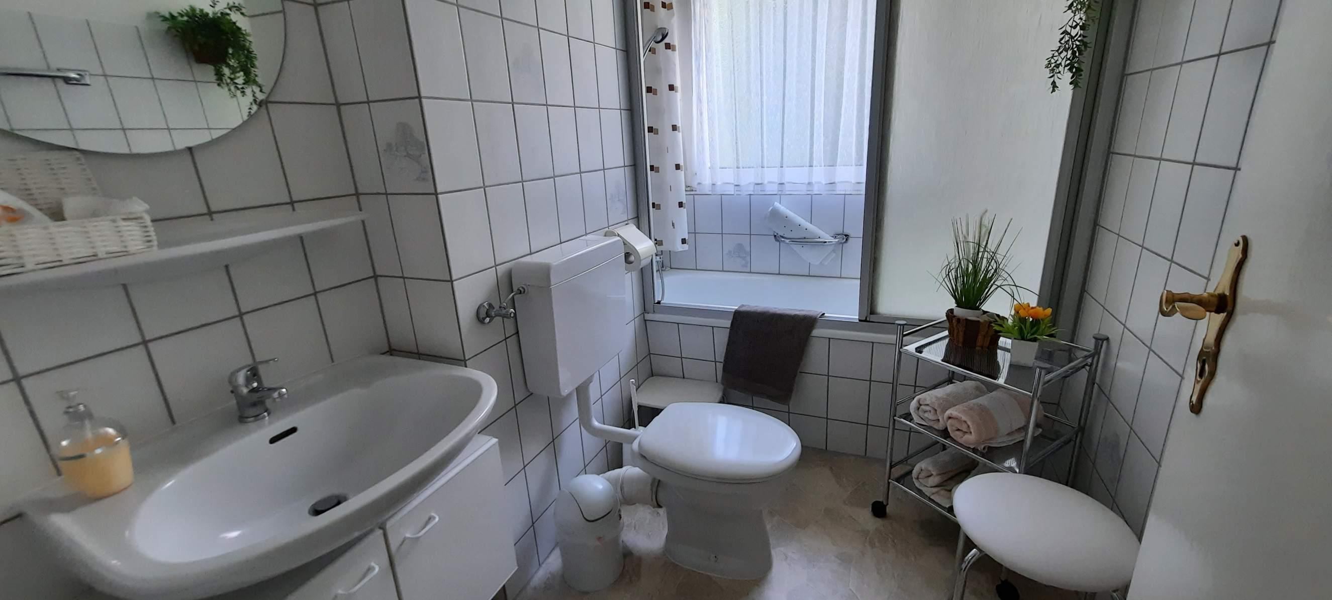 Ferienwohnungen am Birkenweg - Badezimmer