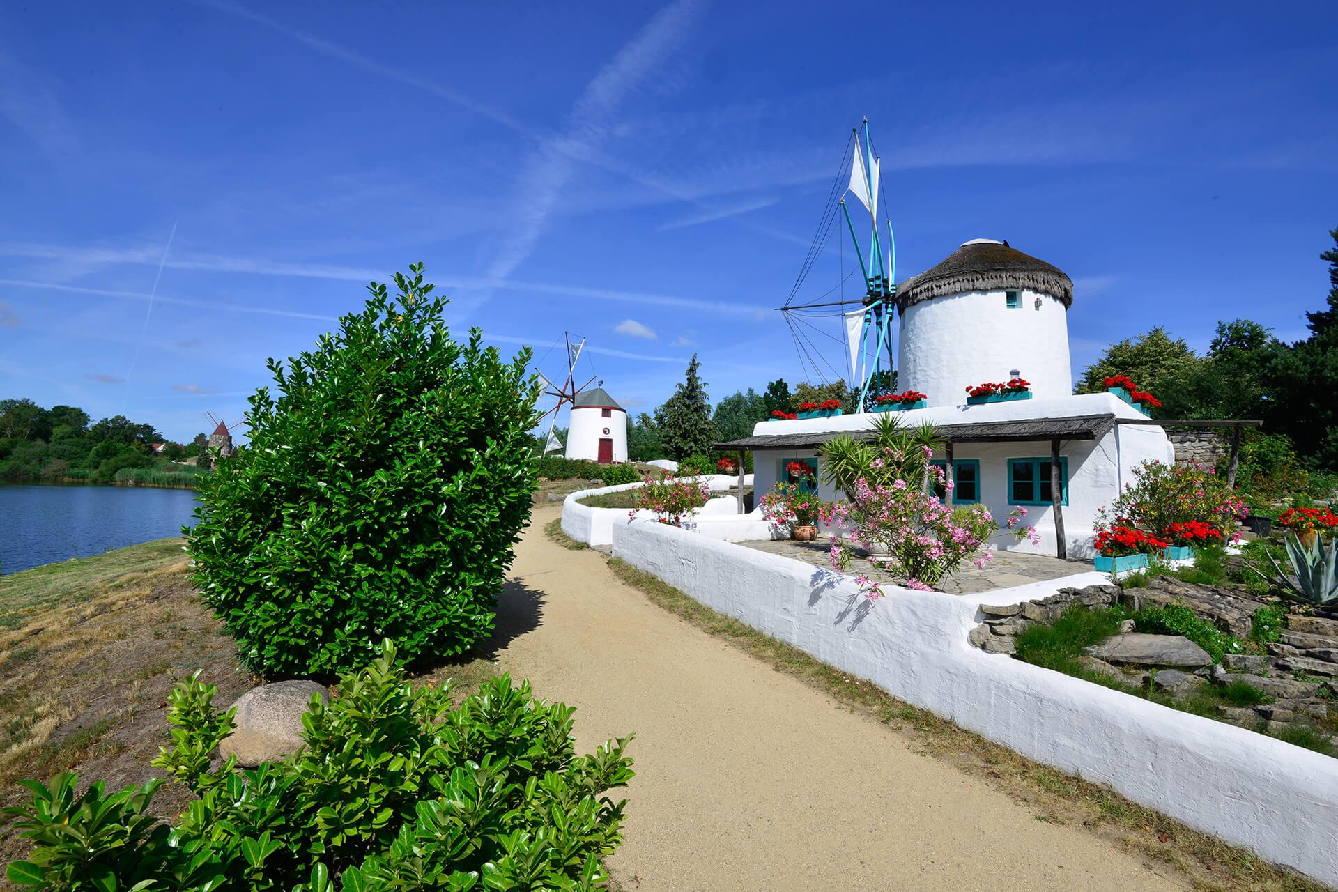 Griechische Mühle im Mühlenmuseum