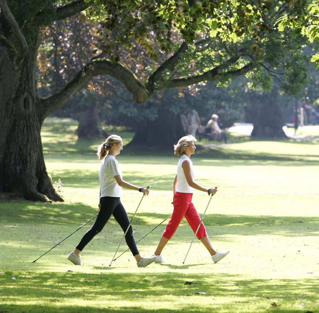 Walking im Park