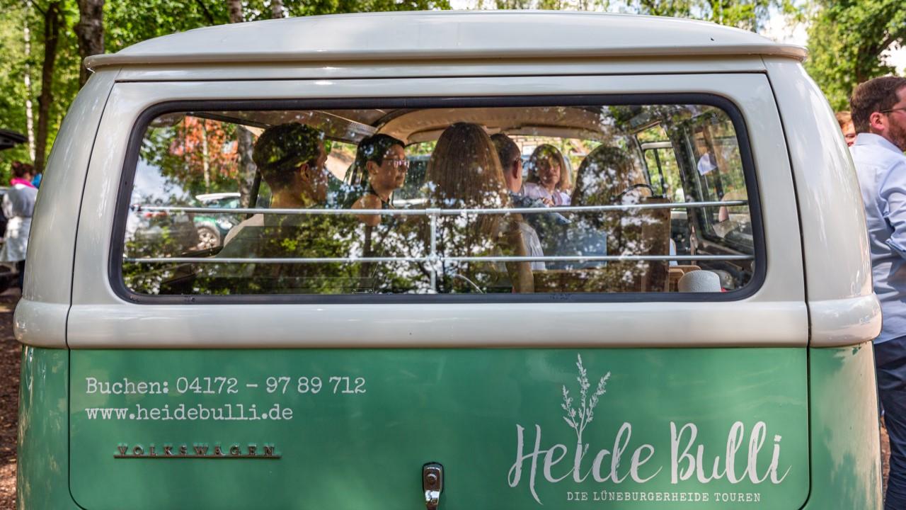 HeideBulli auf Tour