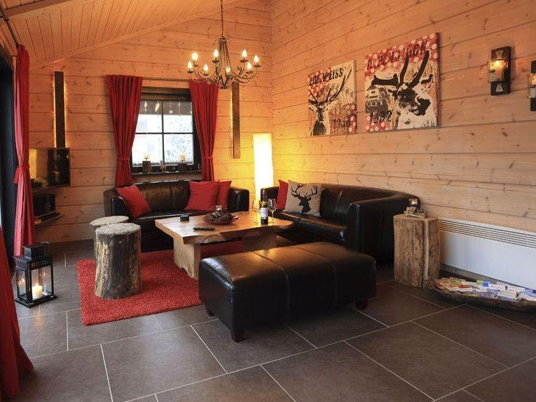 5 Sterne Blockhäuser in Hahnenklee - Wohnzimmer