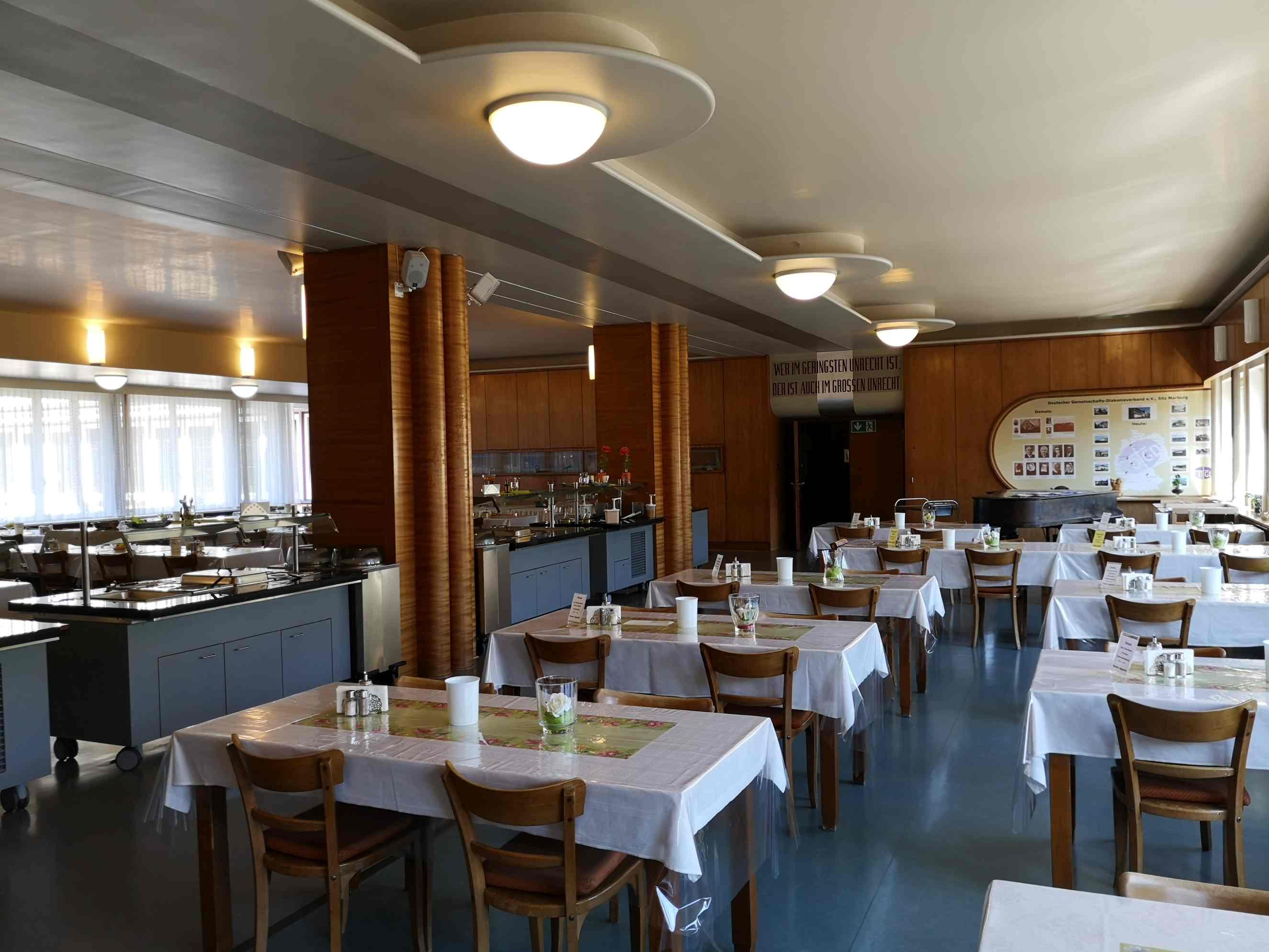 Gästehaus Tanne in Elbingerode - Speisesaal im Mutterhaus