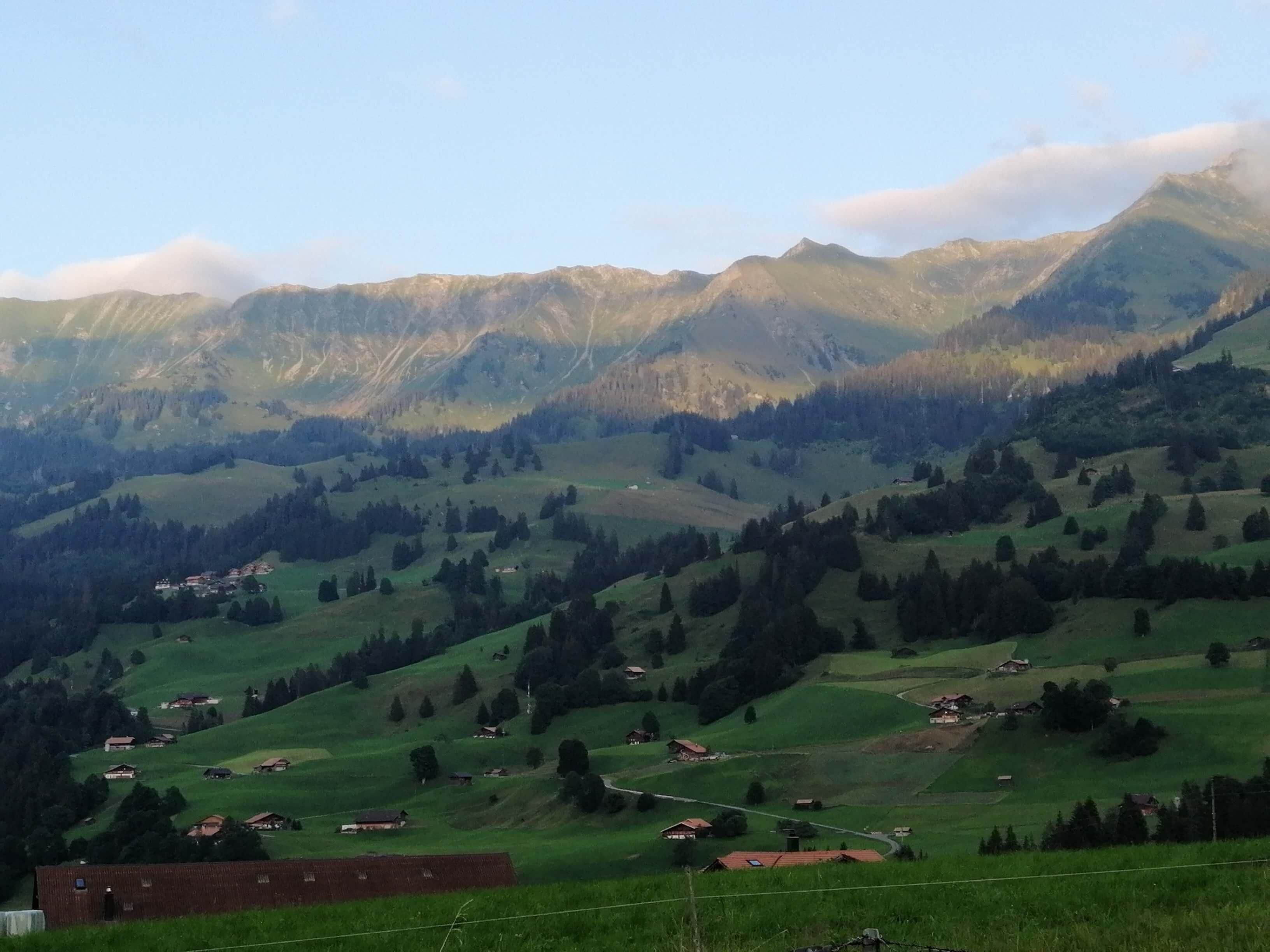 Landschaft-Panorama