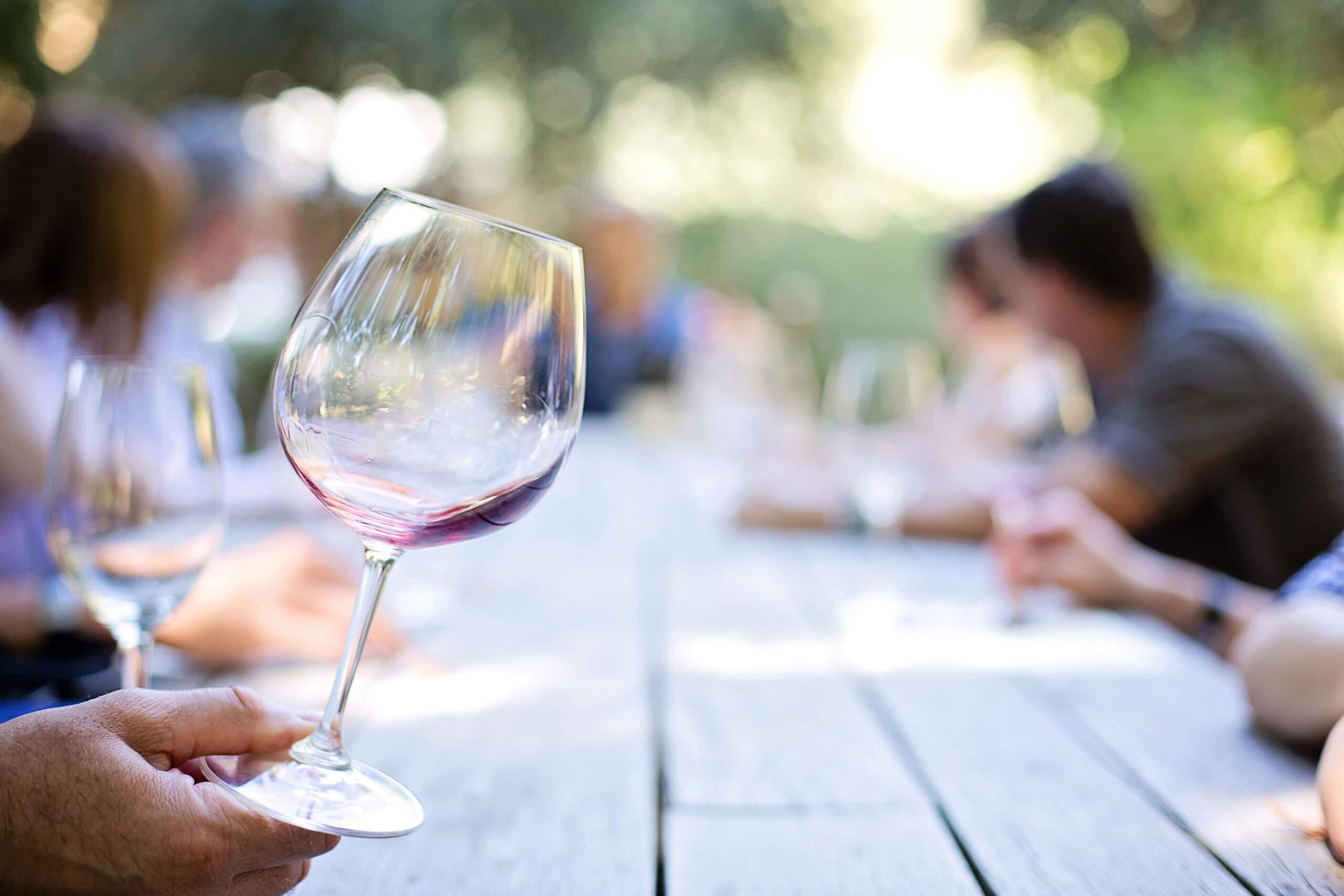 Weinfest im Kurpark