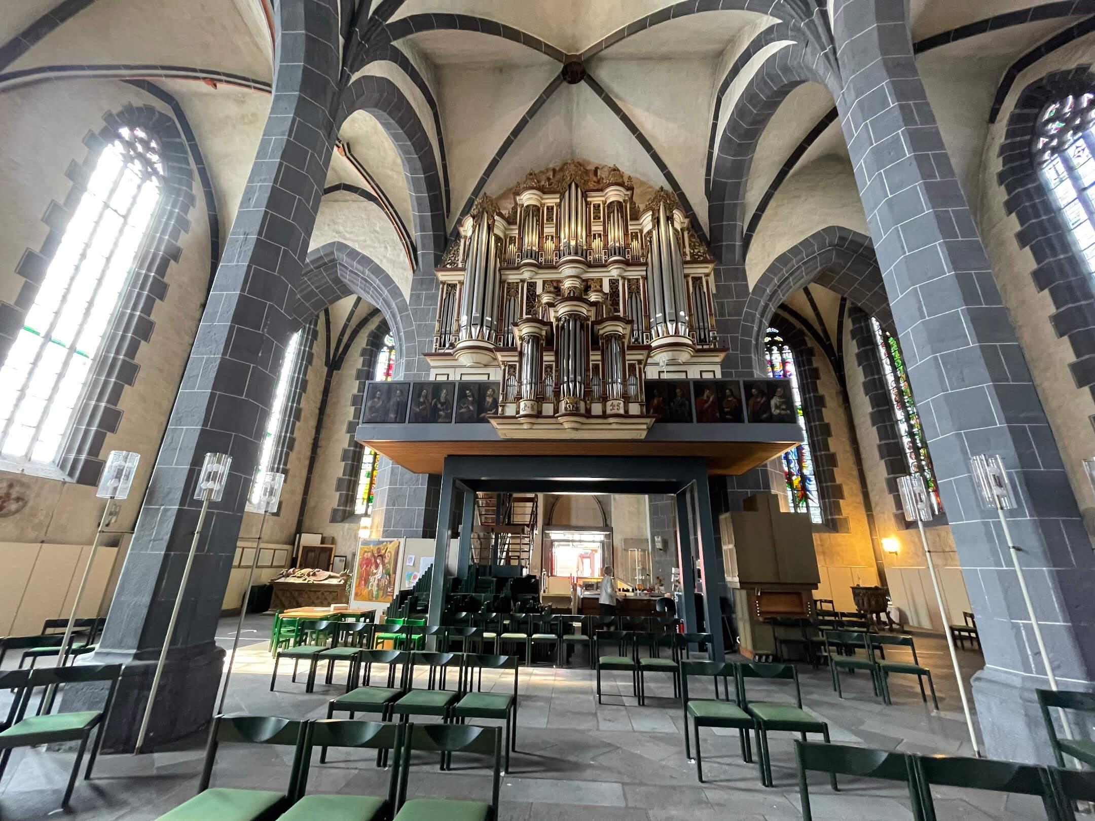 St. Blasius Kirche, Orgel