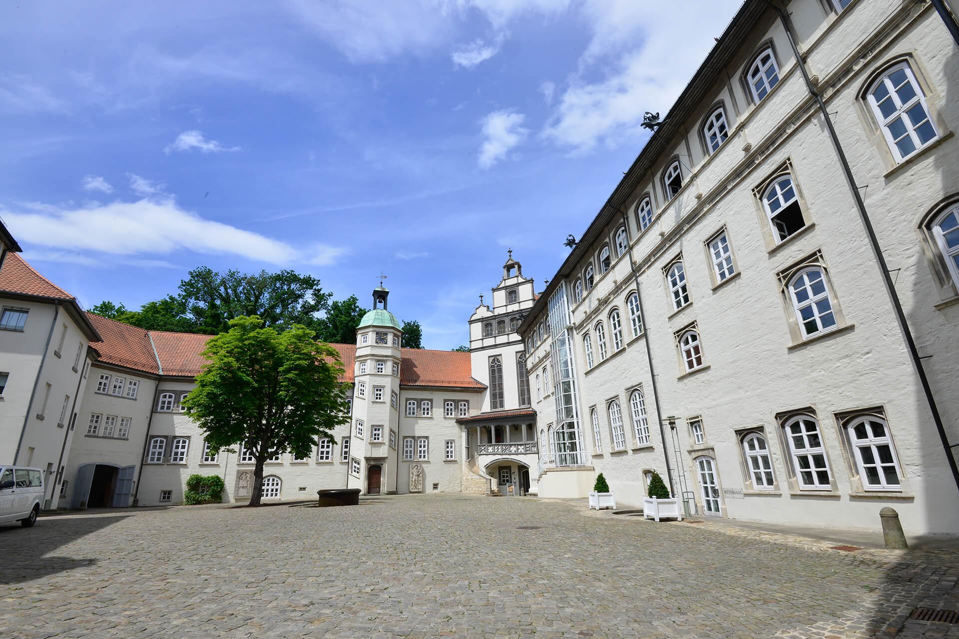 Blick in den Schlossinnenhof