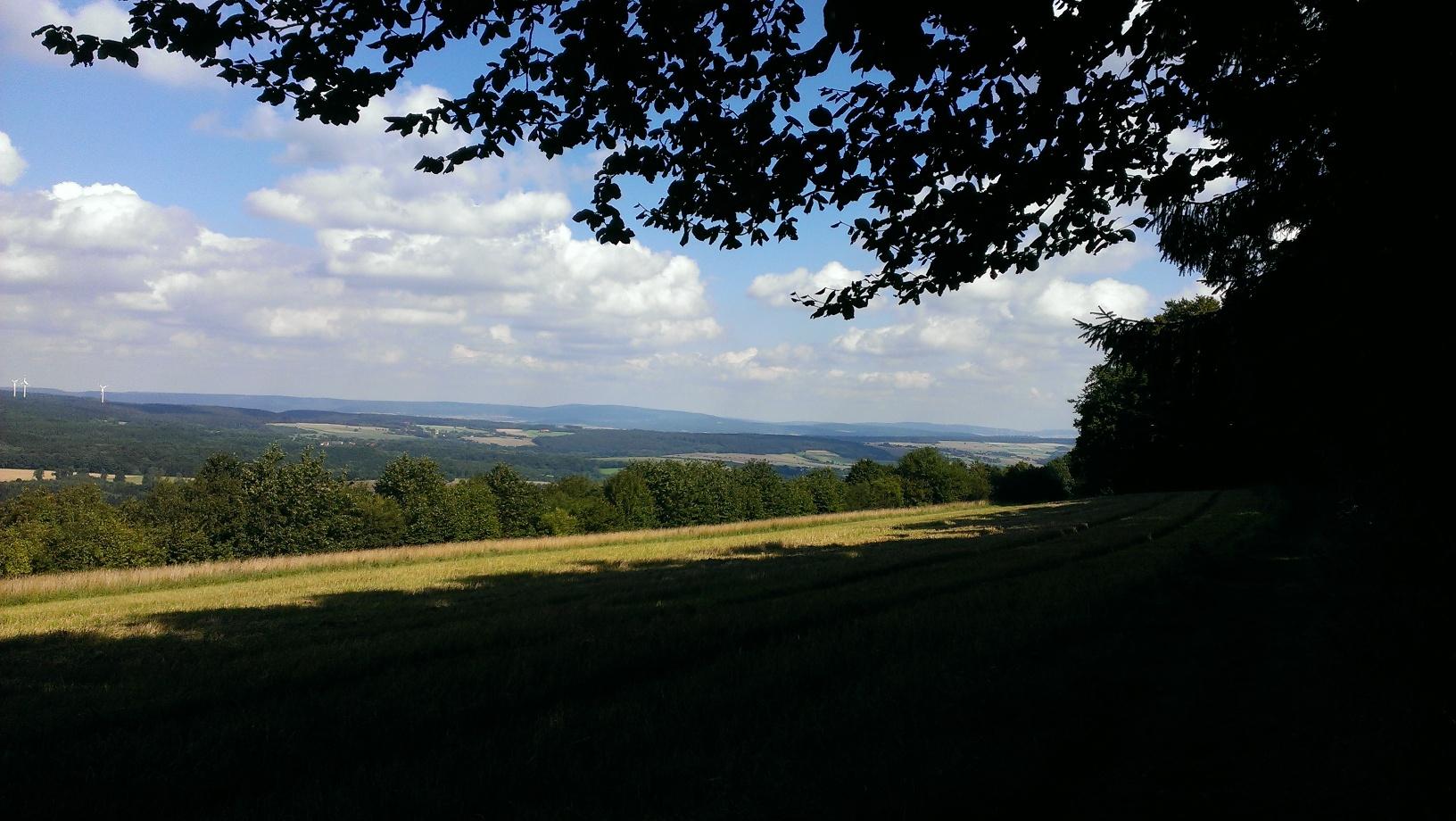 Die Landschaft am Hansaweg