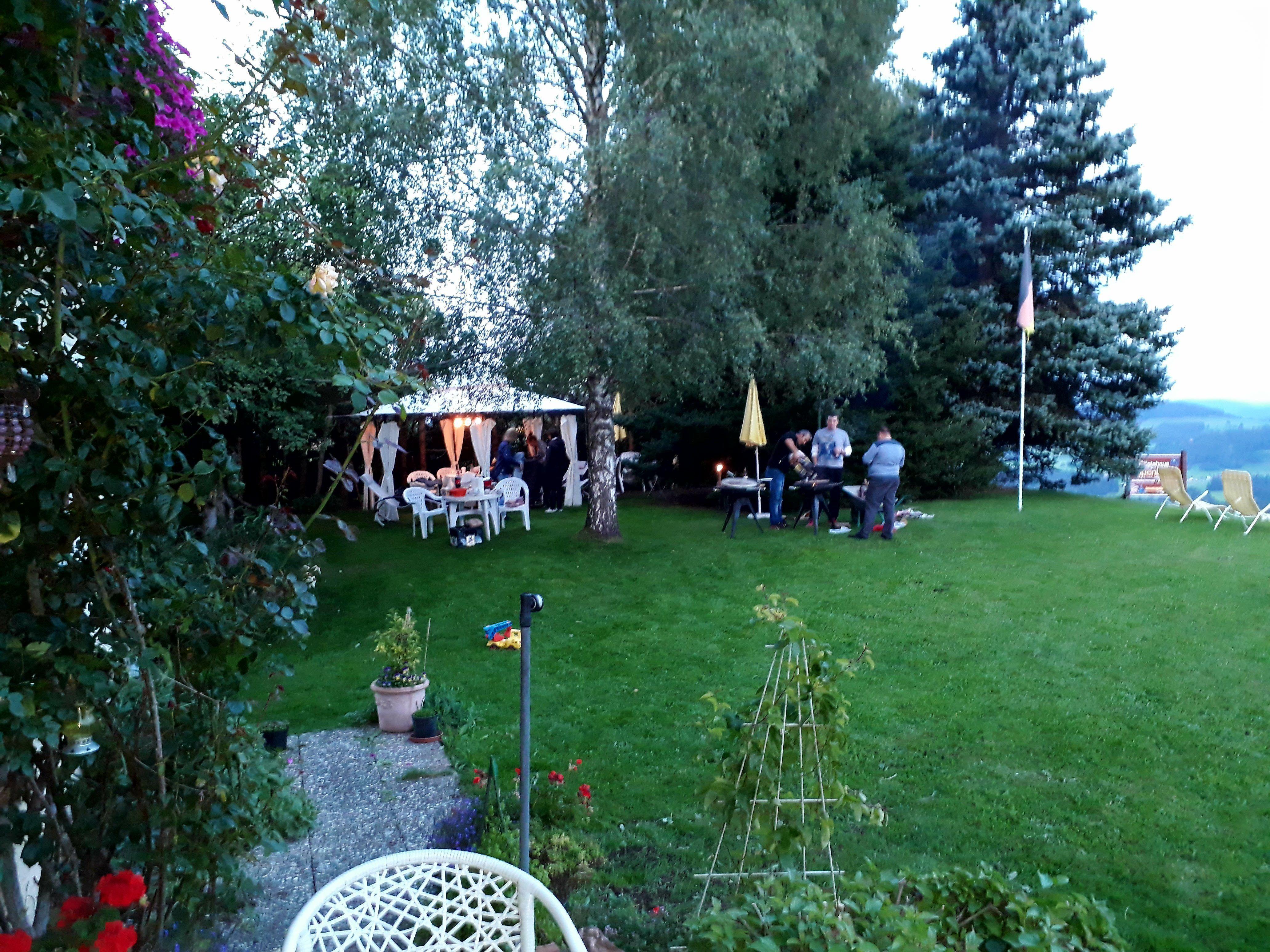 Alpenblick Pension-Gästehaus, Garten