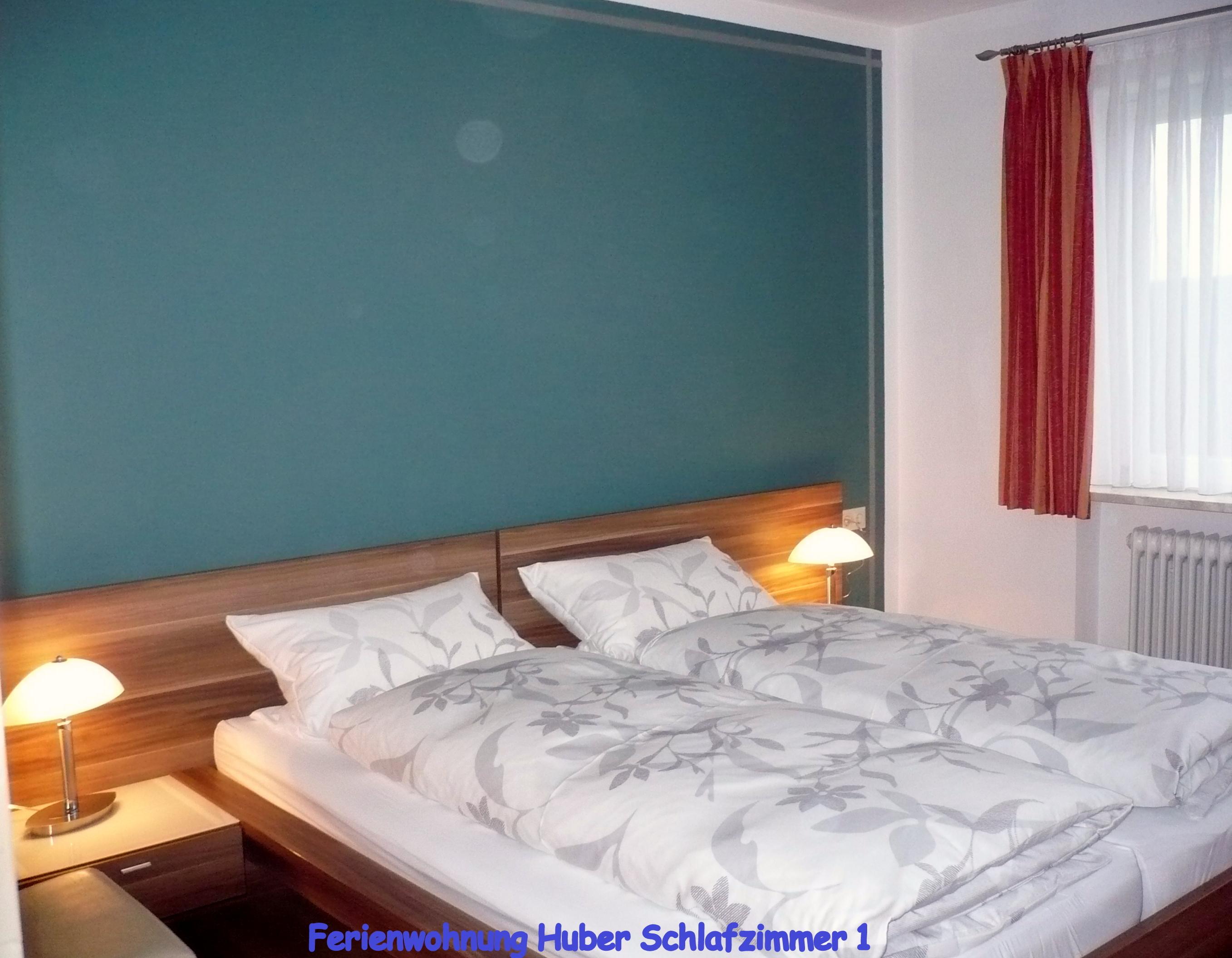 Ferienwohnung Huber, Schlafzimmer 1