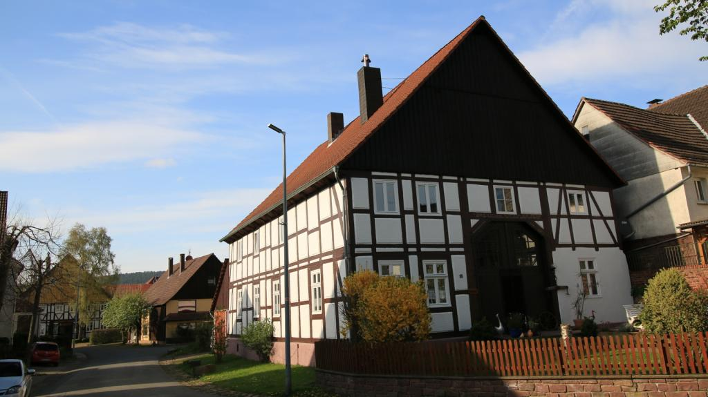 altes Fachwerkhaus in Amelunxen