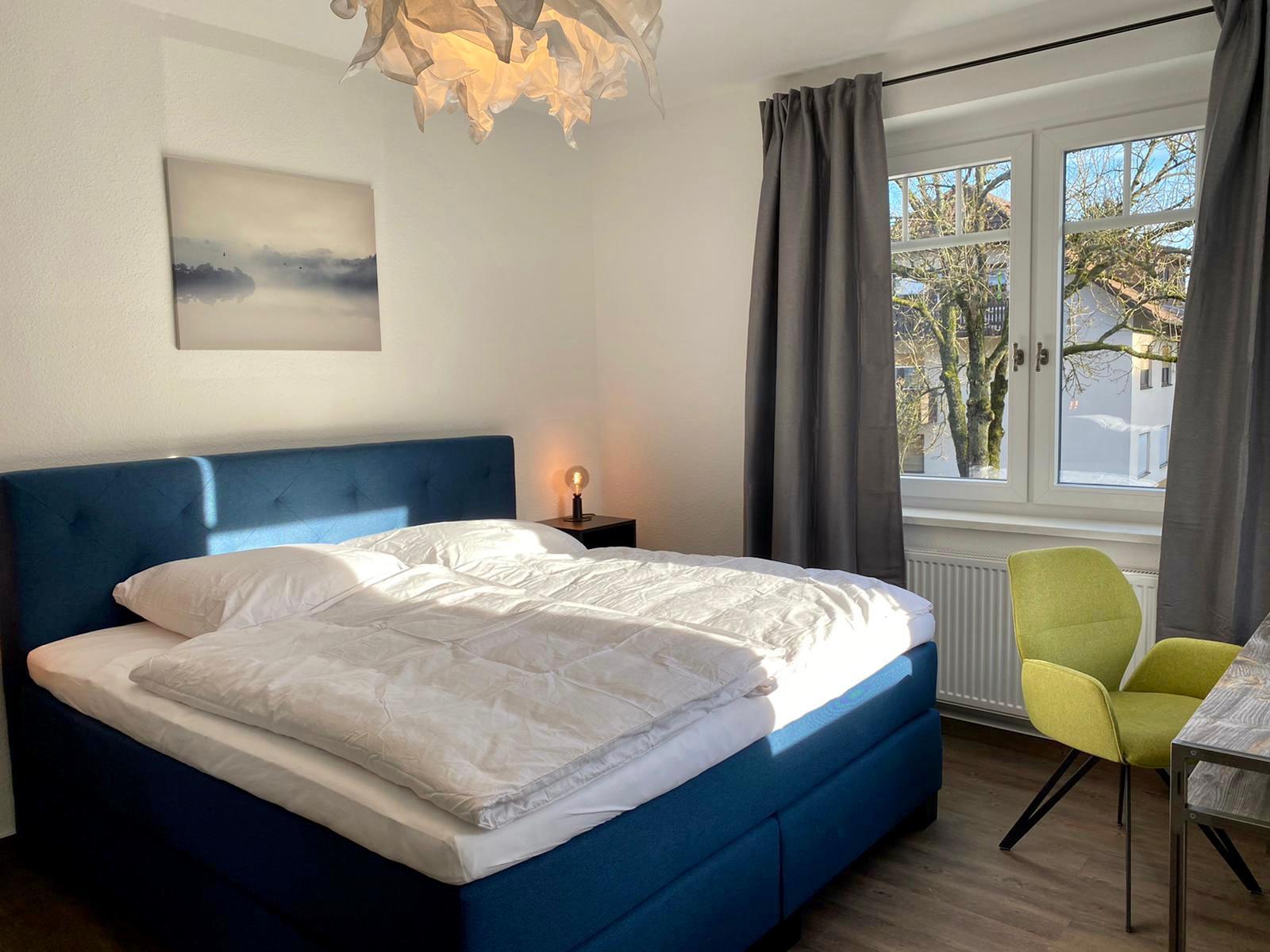 FeWoWa - Bad Sachsa - Schiller-Suite - Schlafzimmer