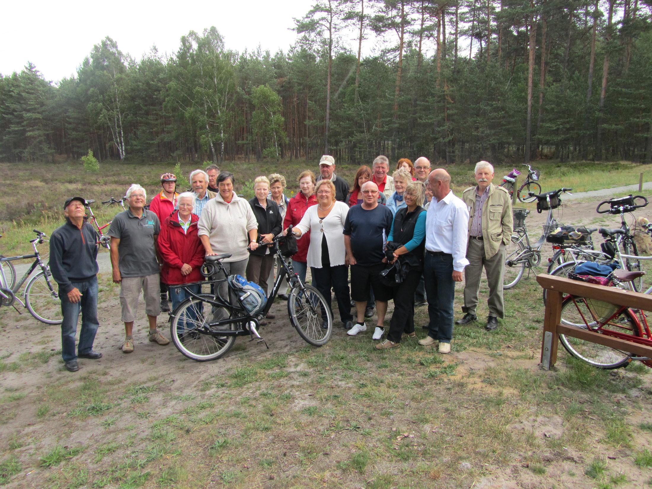 Sagen- und Geschichtslehrpfad - Radgruppe