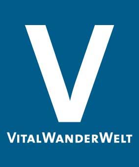 Markierungszeichen VitalWanderWelt blau