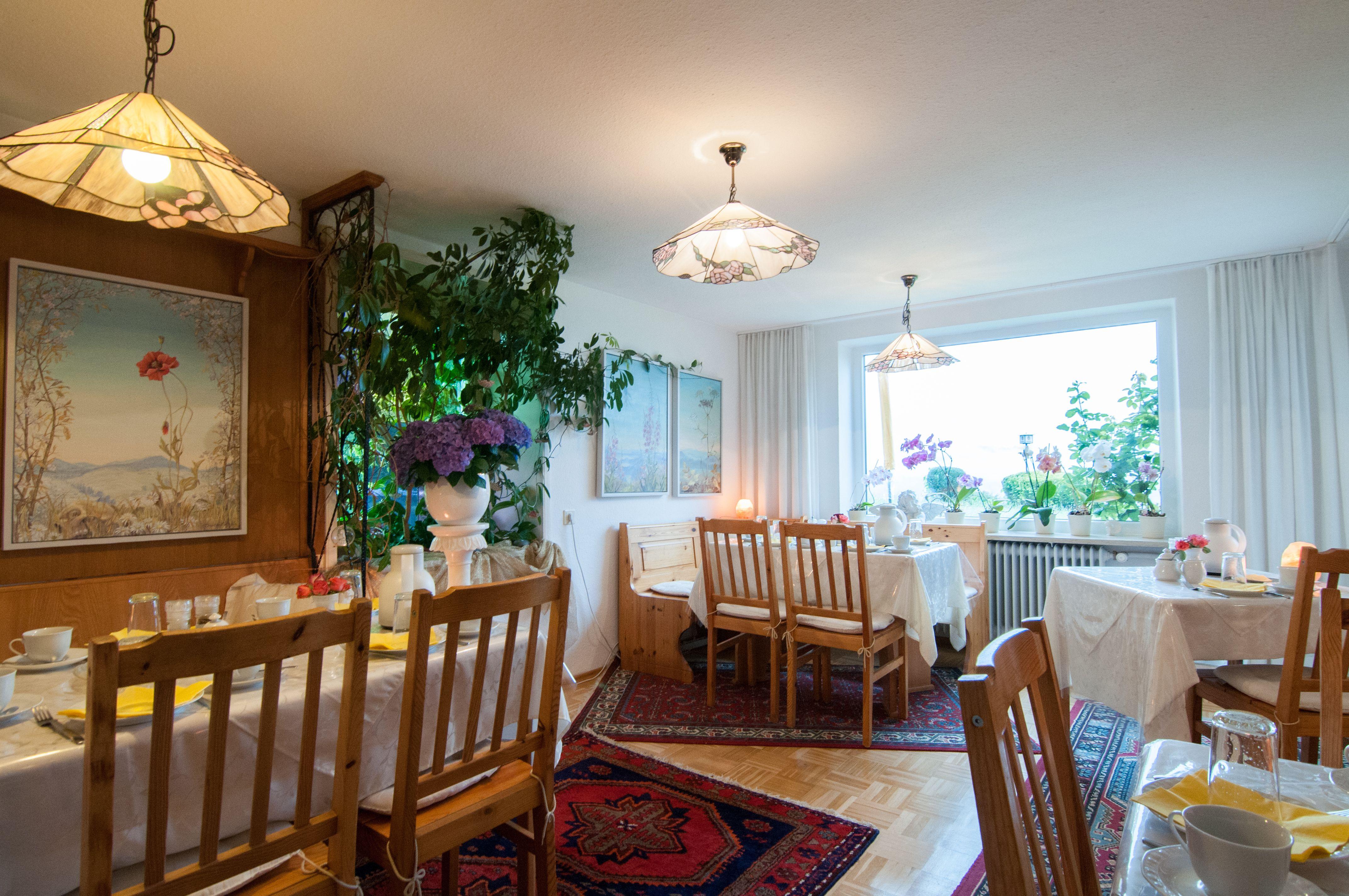 Alpenblick Pension-Gästehaus, Frühstücksraum