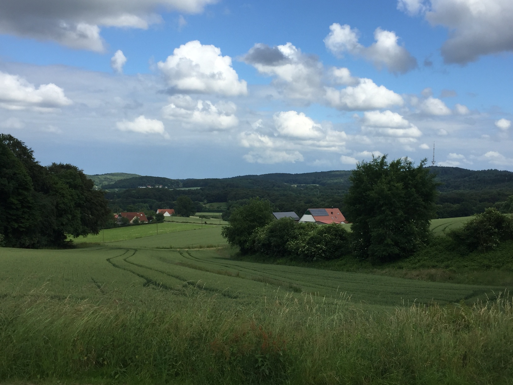 Blick auf Kirchdornberg