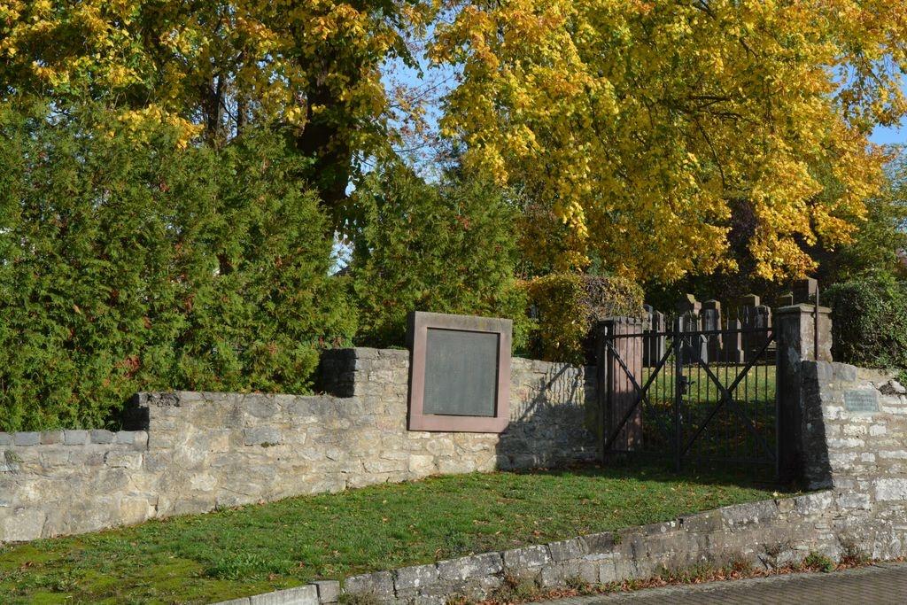 Jüdischer Friedhof in Brakel
