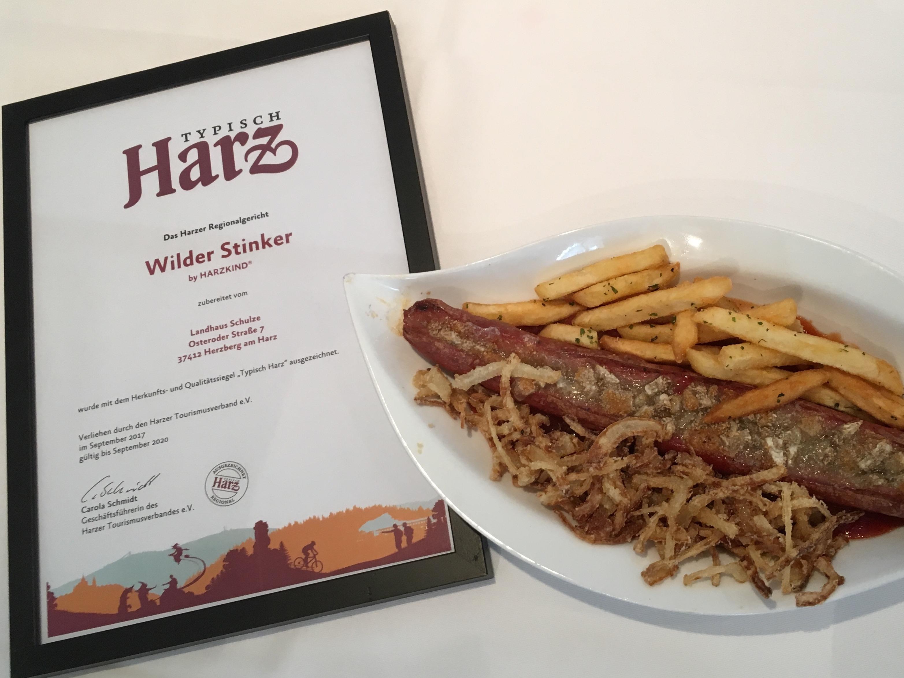 Harzer Regionalgericht - Wilder Stinker