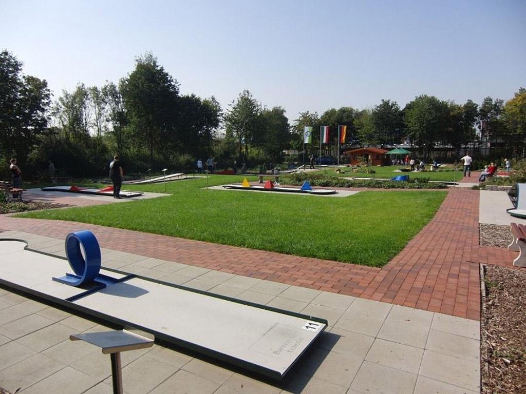 Minigolfplatz im Espelpark