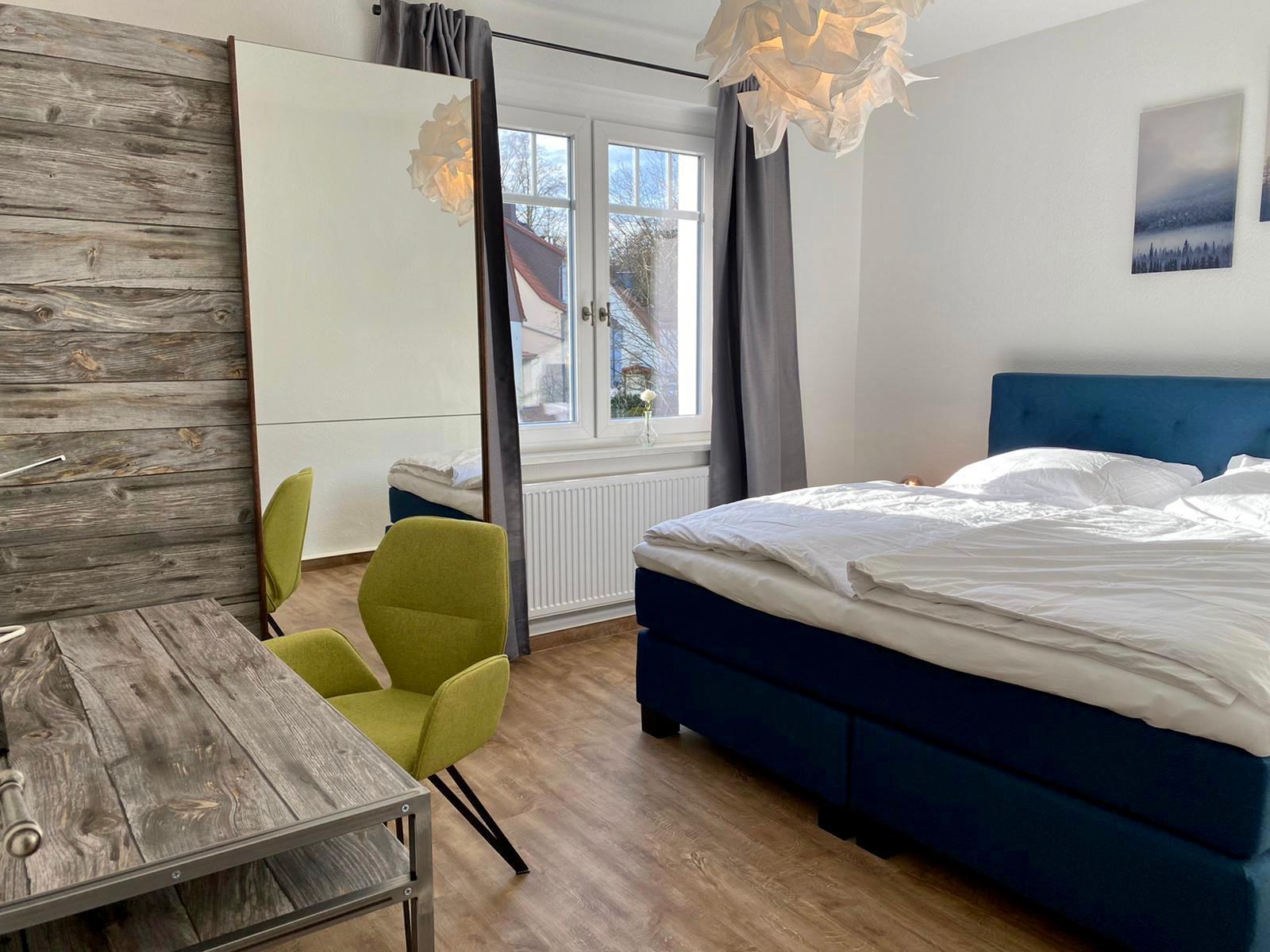 FeWoWa - Bad Sachsa - Ferienwohnung Goetheblick - Schlafzimmer