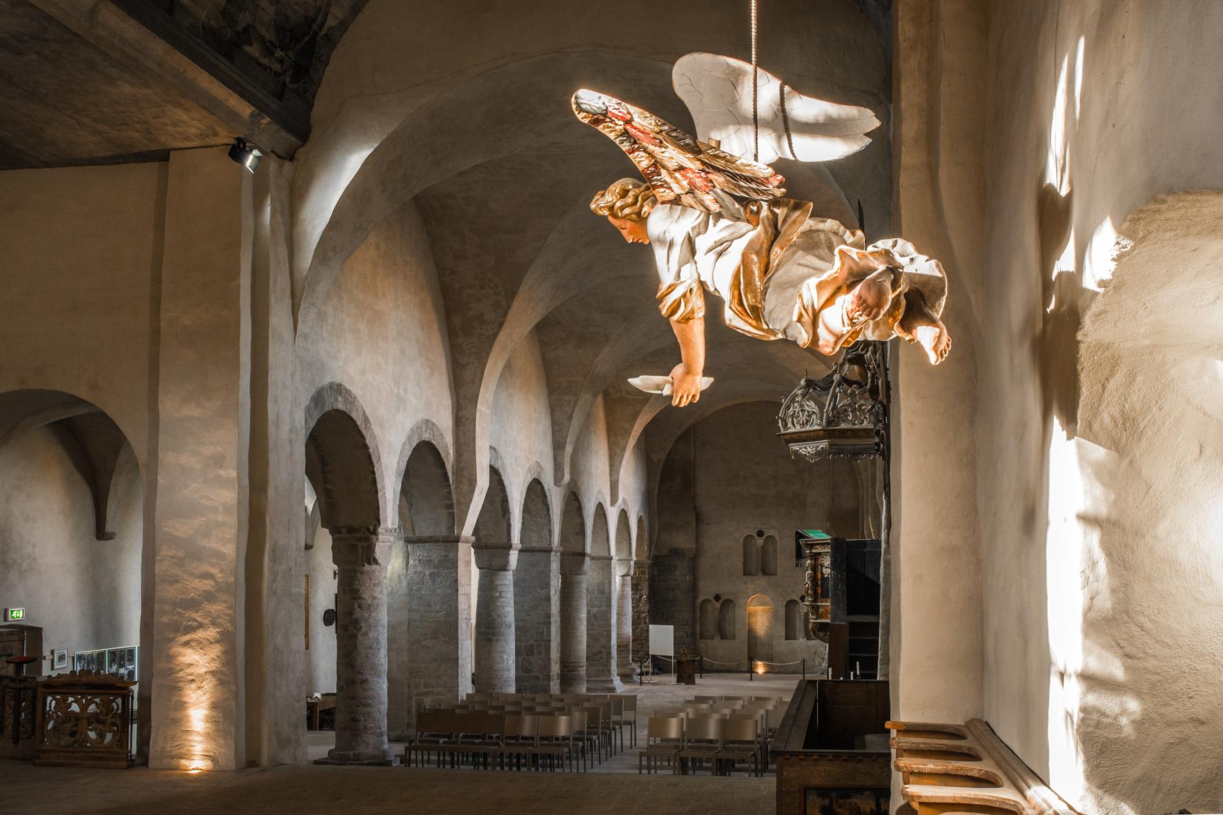 Kirche und Engel Kloster Ilsenburg