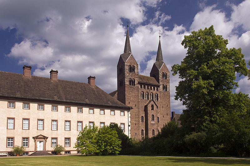 Aussenansicht Schloss Corvey